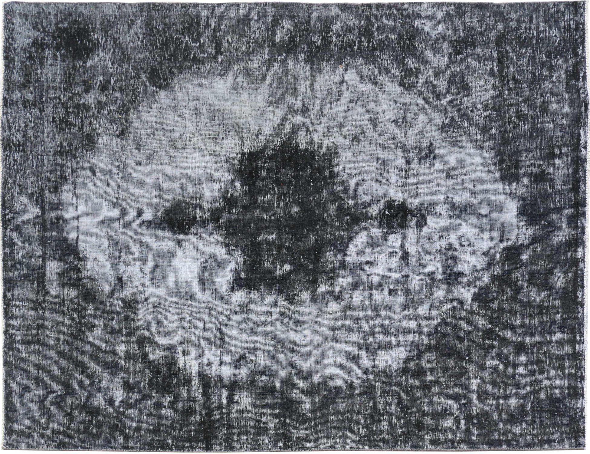 Persisk Vintagetæppe  sort <br/>277 x 187 cm