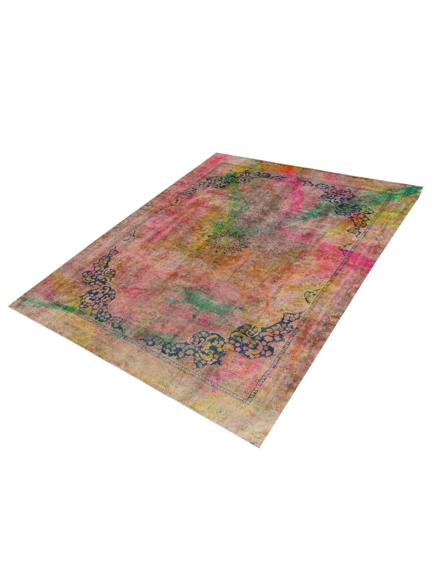 Vintagetæppe  multifarvet <br/>304 x 238 cm