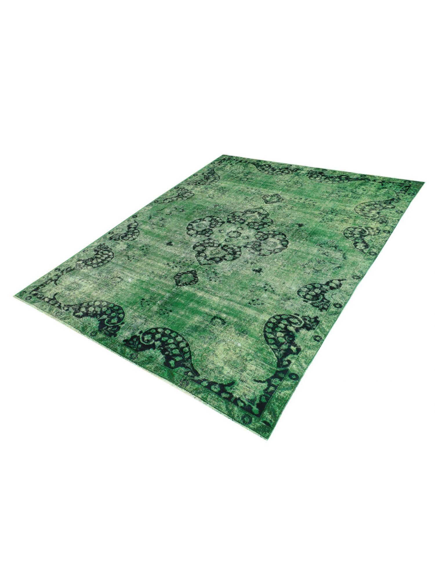 Persisk Vintagetæppe  grøn <br/>295 x 192 cm