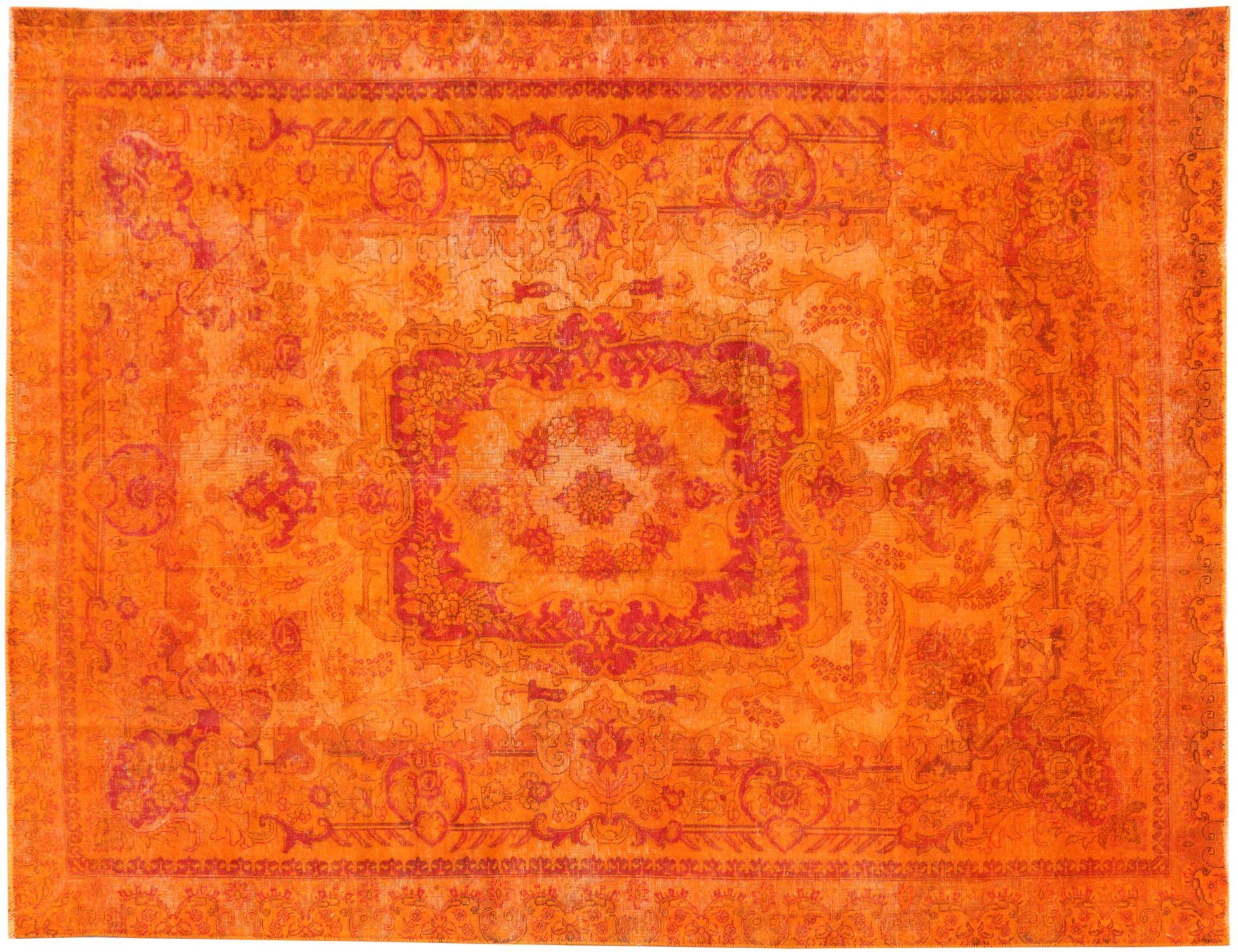 Vintagetæppe  orange <br/>345 x 244 cm
