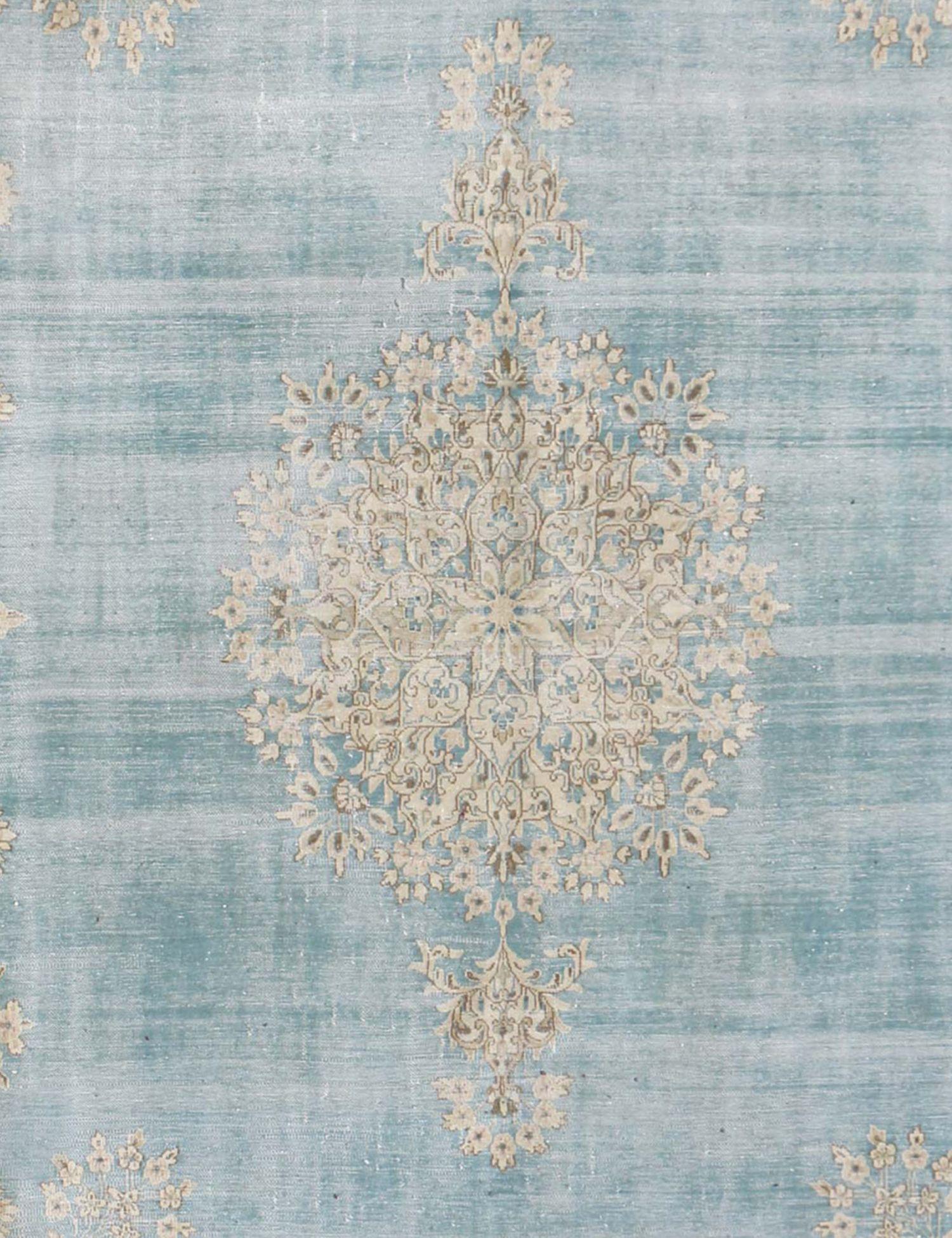 Tapis Persan vintage  bleu <br/>405 x 290 cm