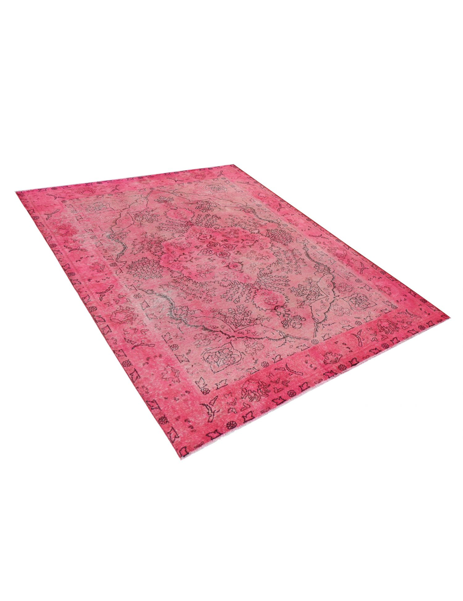 Tappeto Vintage   rosa <br/>295 x 195 cm
