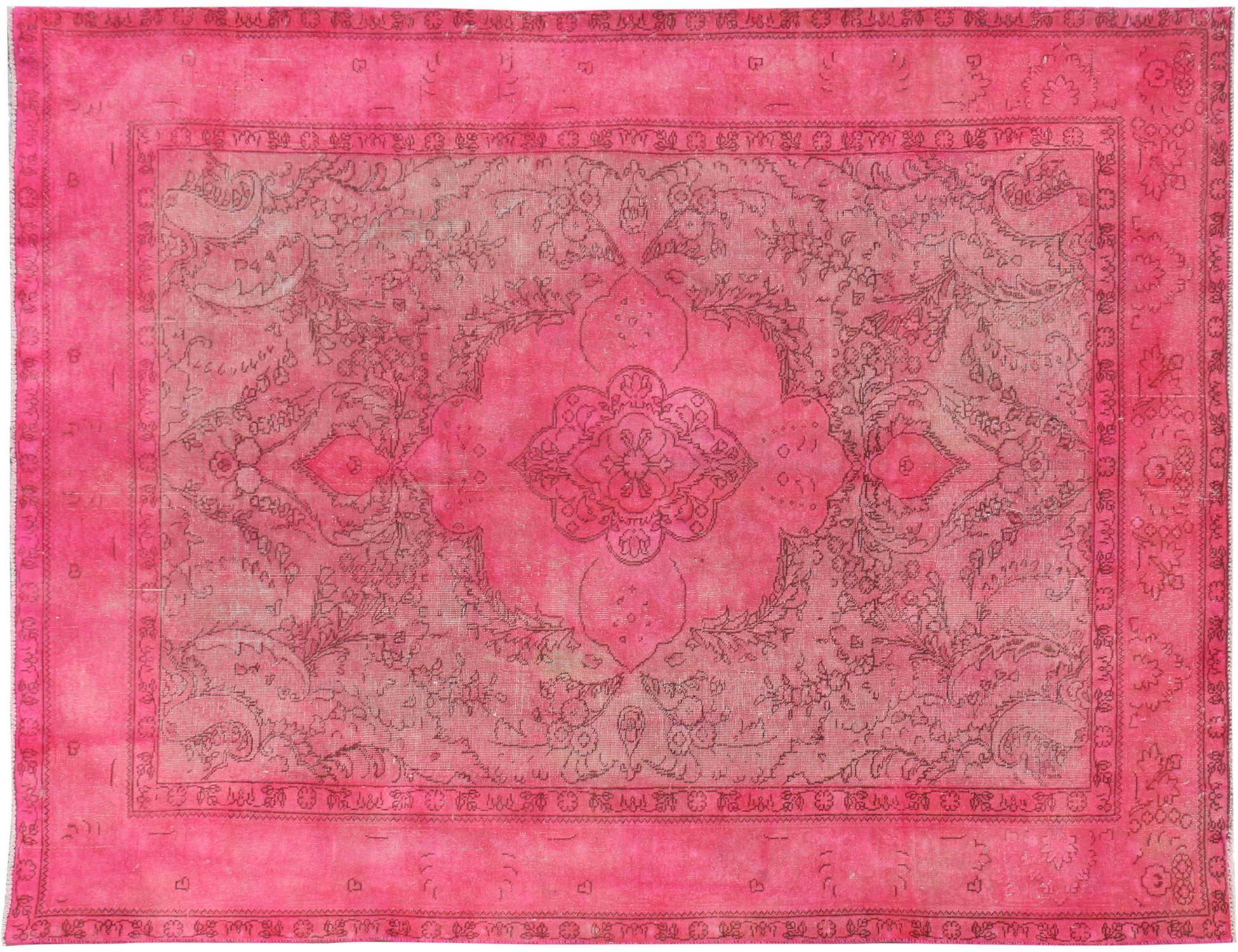 Vintage Teppich  rosa <br/>287 x 198 cm