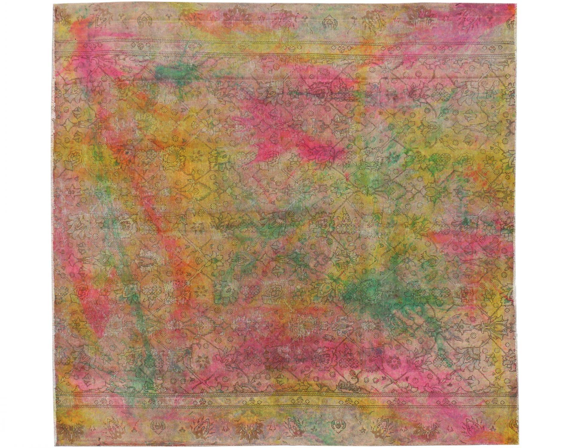 Persischer Vintage Teppich  mehrfarbig <br/>300 x 275 cm