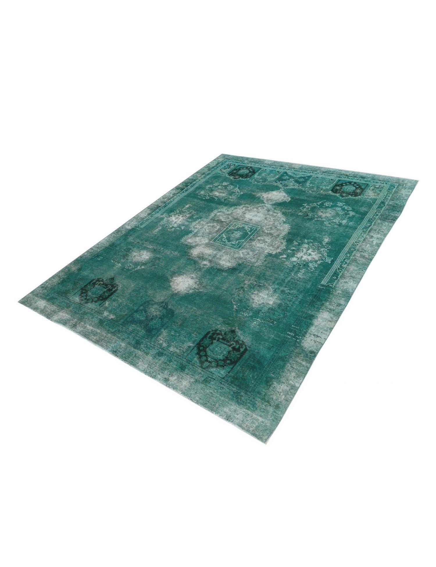 Persisk Vintagetæppe  grøn <br/>368 x 256 cm