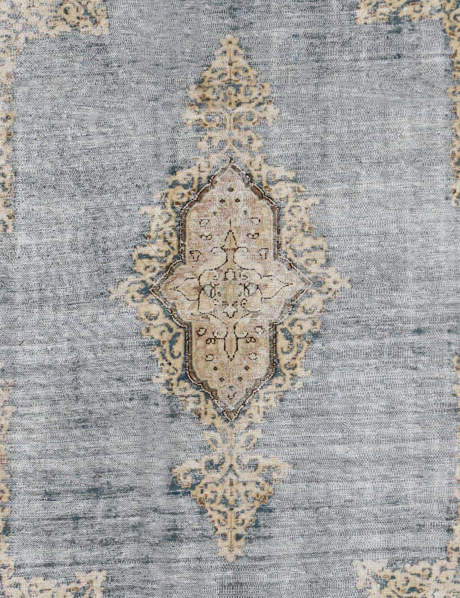 Perzisch Vintage Tapijt  blauw <br/>302 x 200 cm