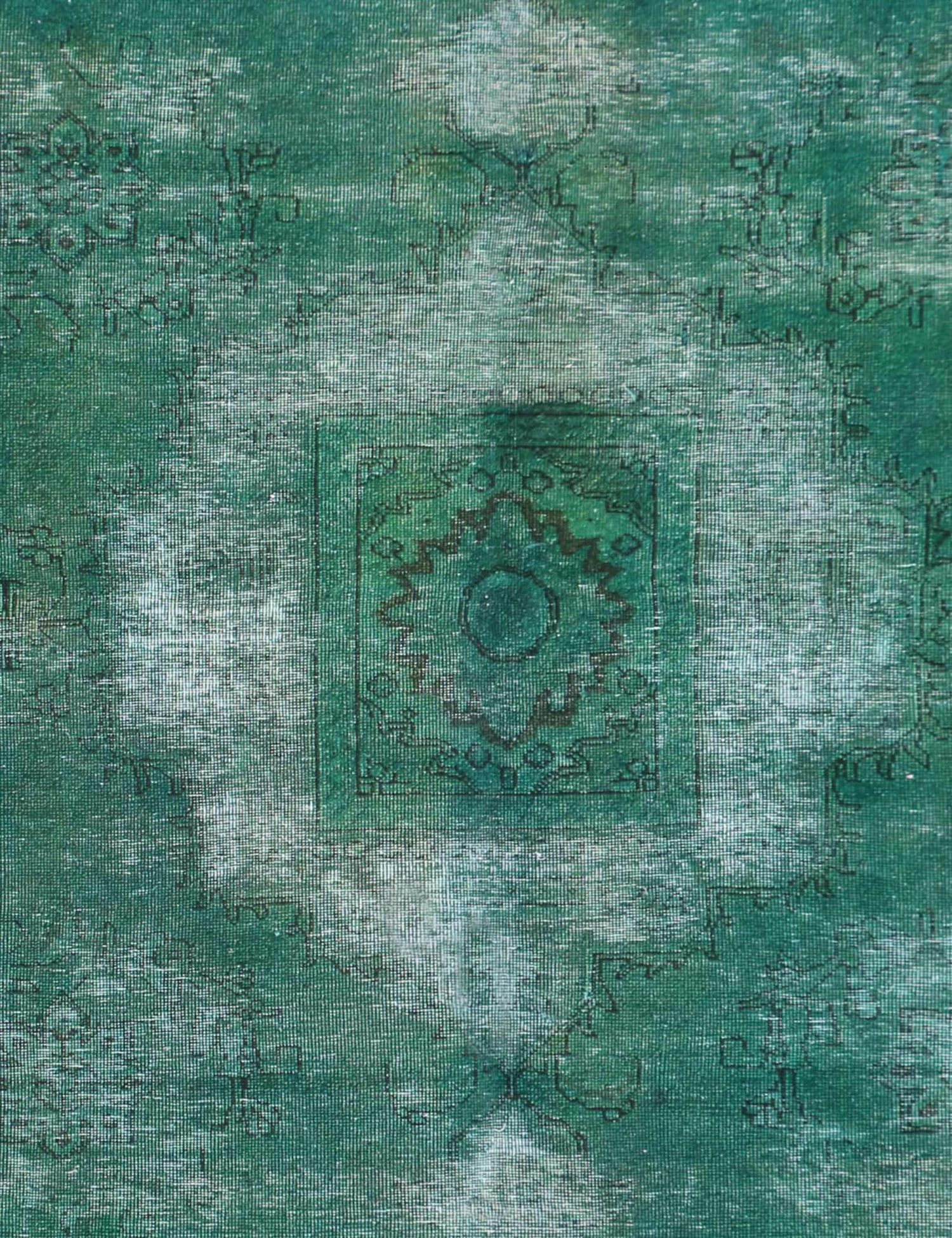 Perzisch Vintage Tapijt  groen <br/>255 x 154 cm