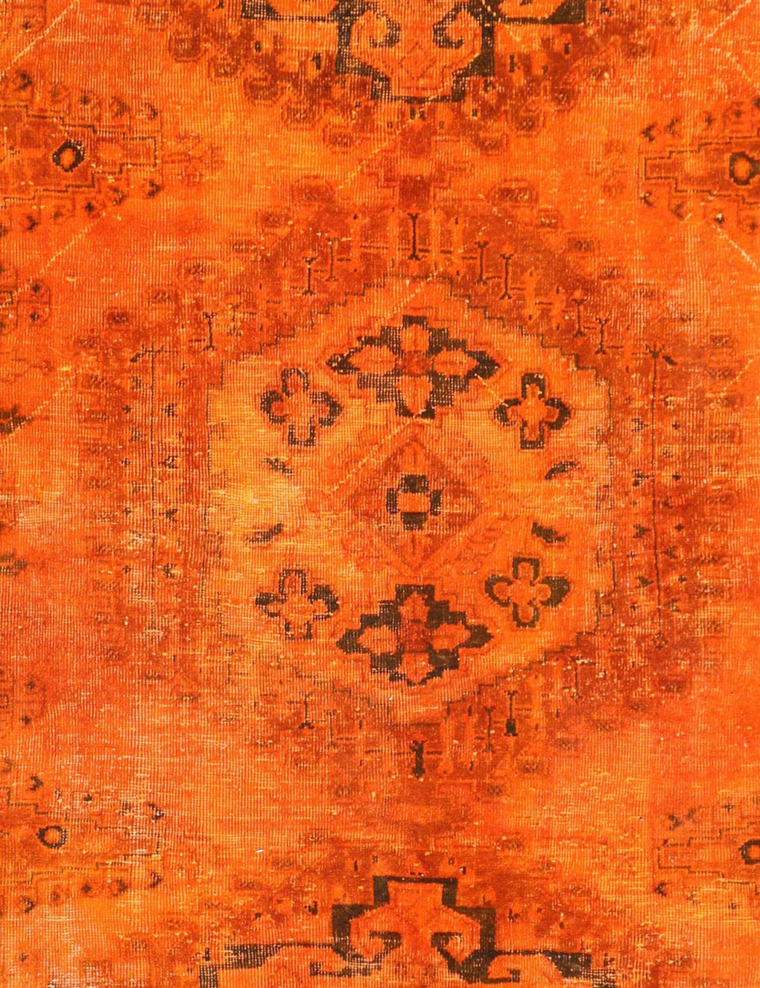 Persisk Vintagetæppe  orange <br/>284 x 214 cm