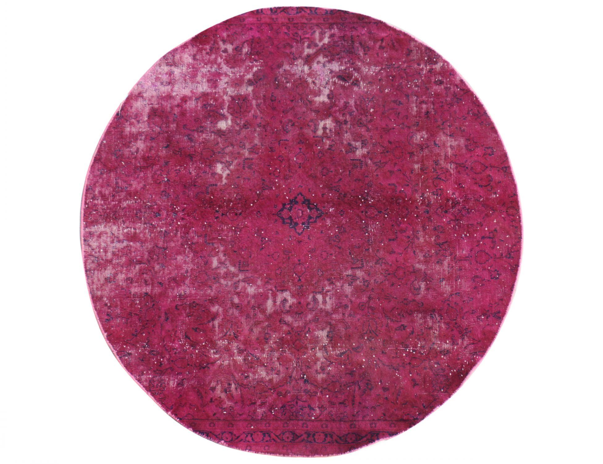 Persian Vintage Carpet  red  <br/>204 x 204 cm