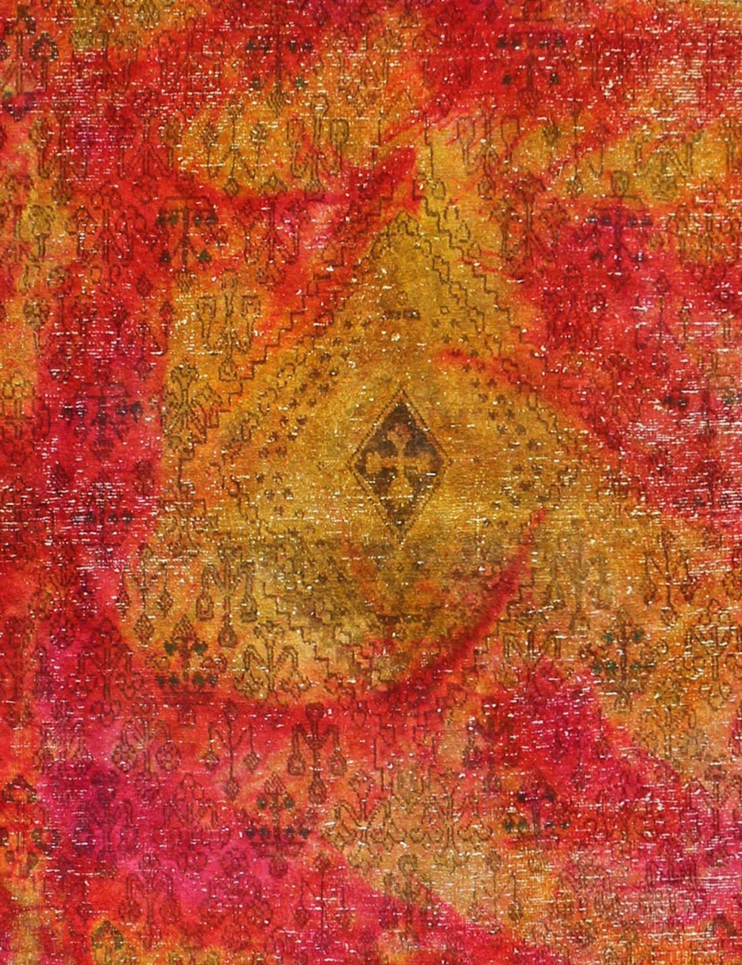 Vintage Teppich  gelb <br/>222 x 222 cm