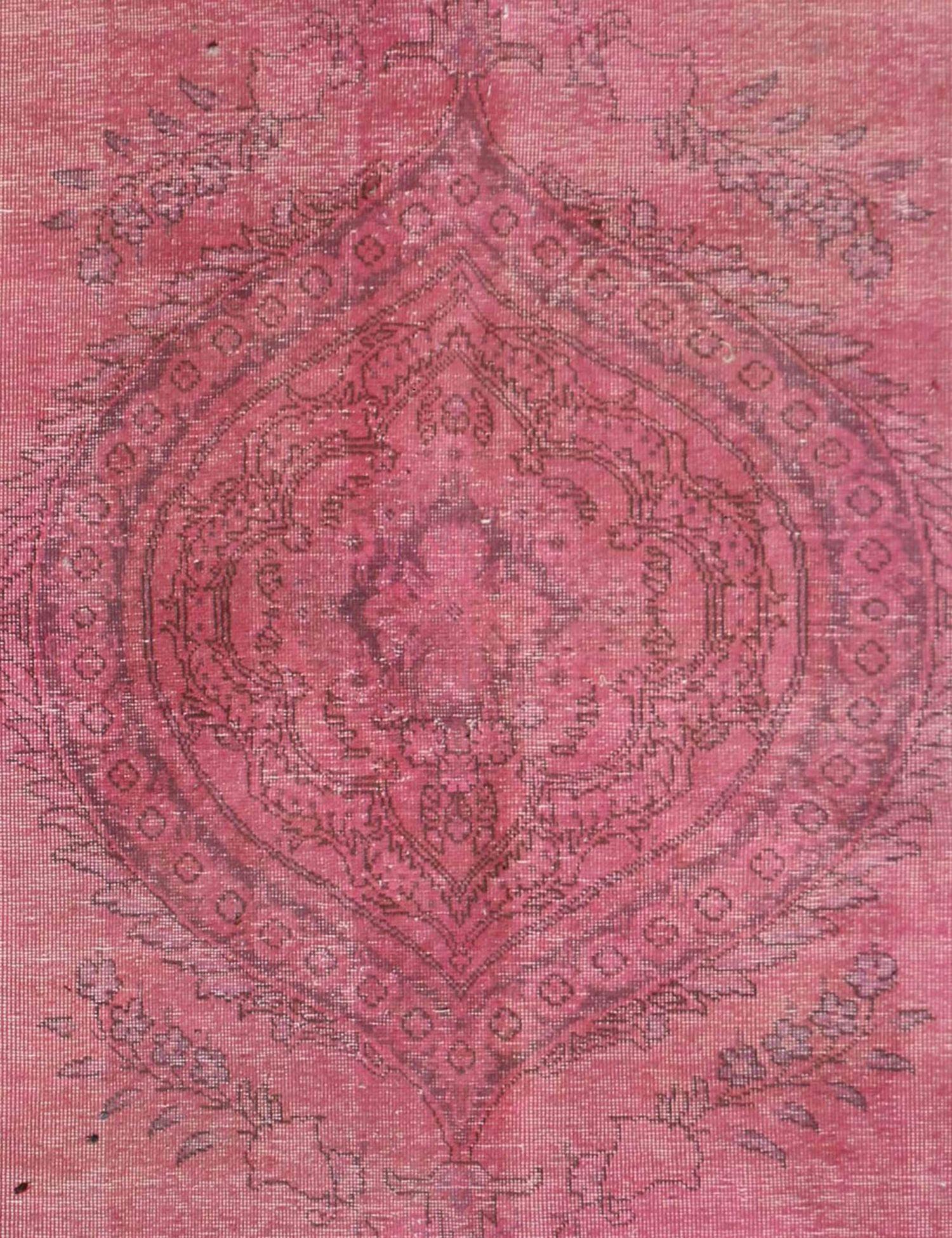 Persischer Vintage Teppich  rosa <br/>220 x 160 cm