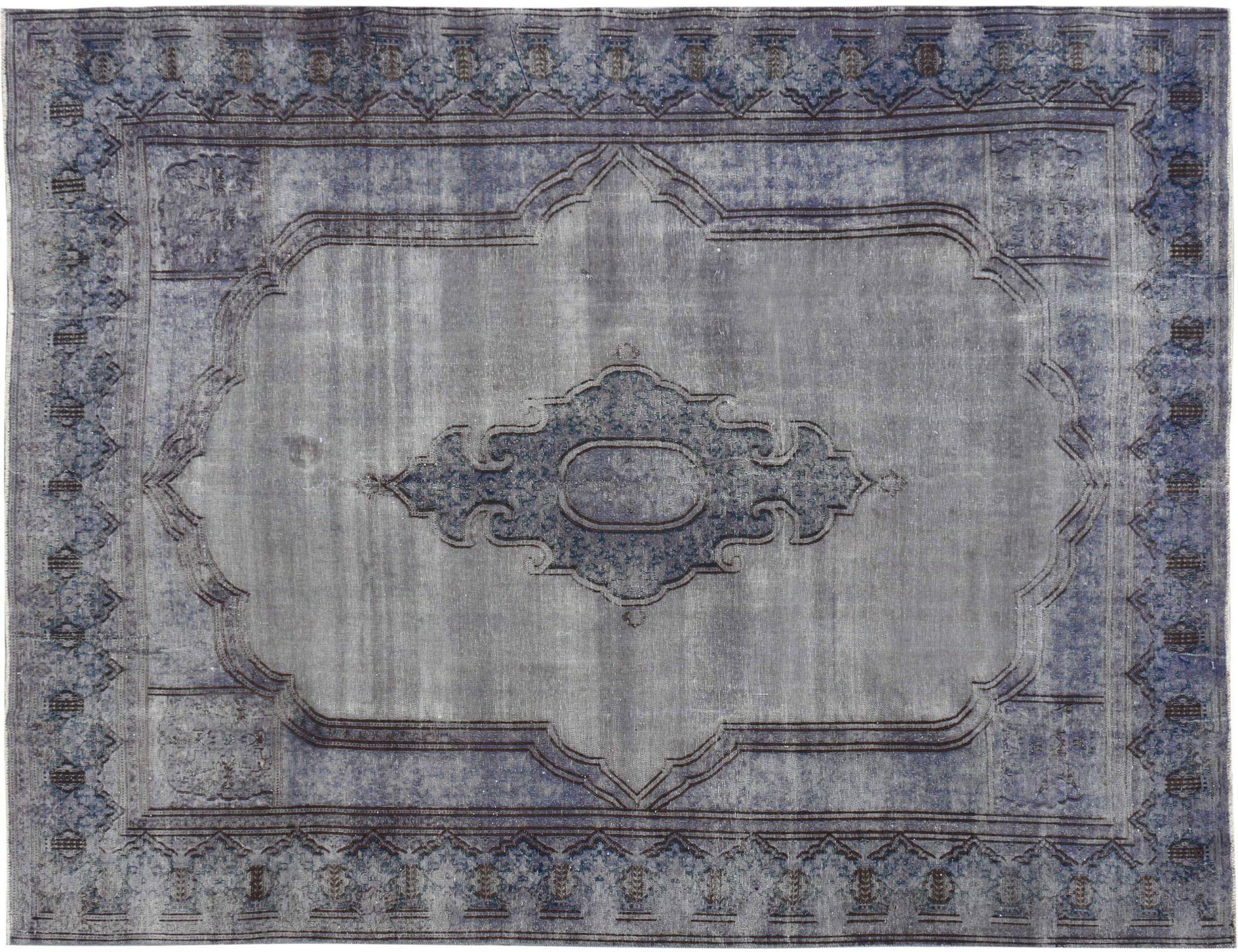 Vintage Tapijt  blauw <br/>384 x 288 cm