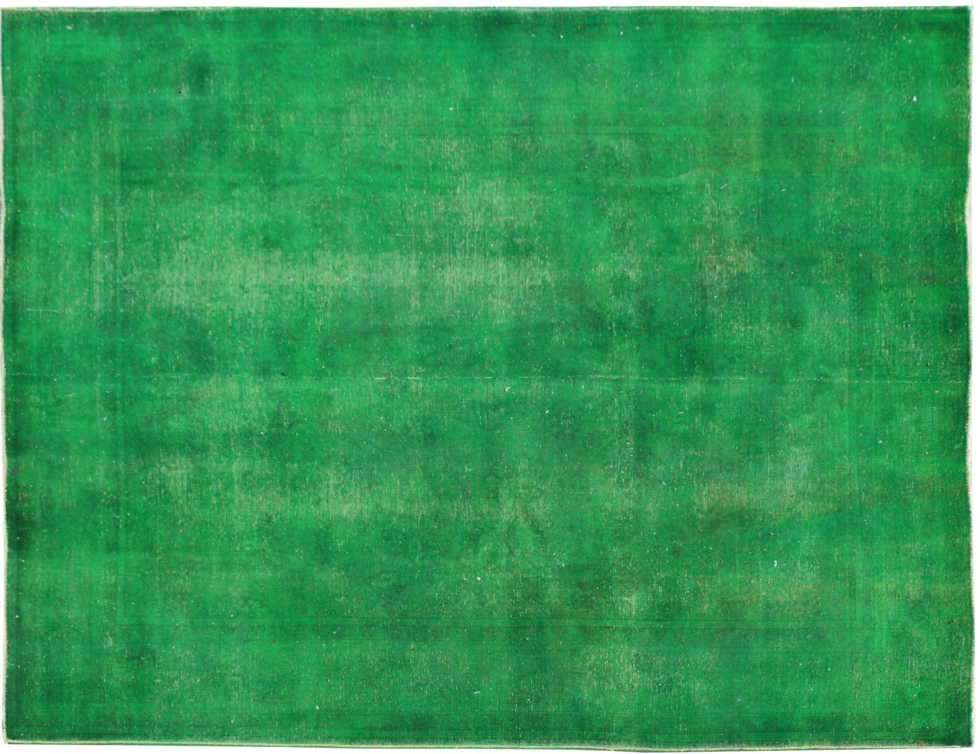 Vintage Carpet  green  <br/>347 x 260 cm