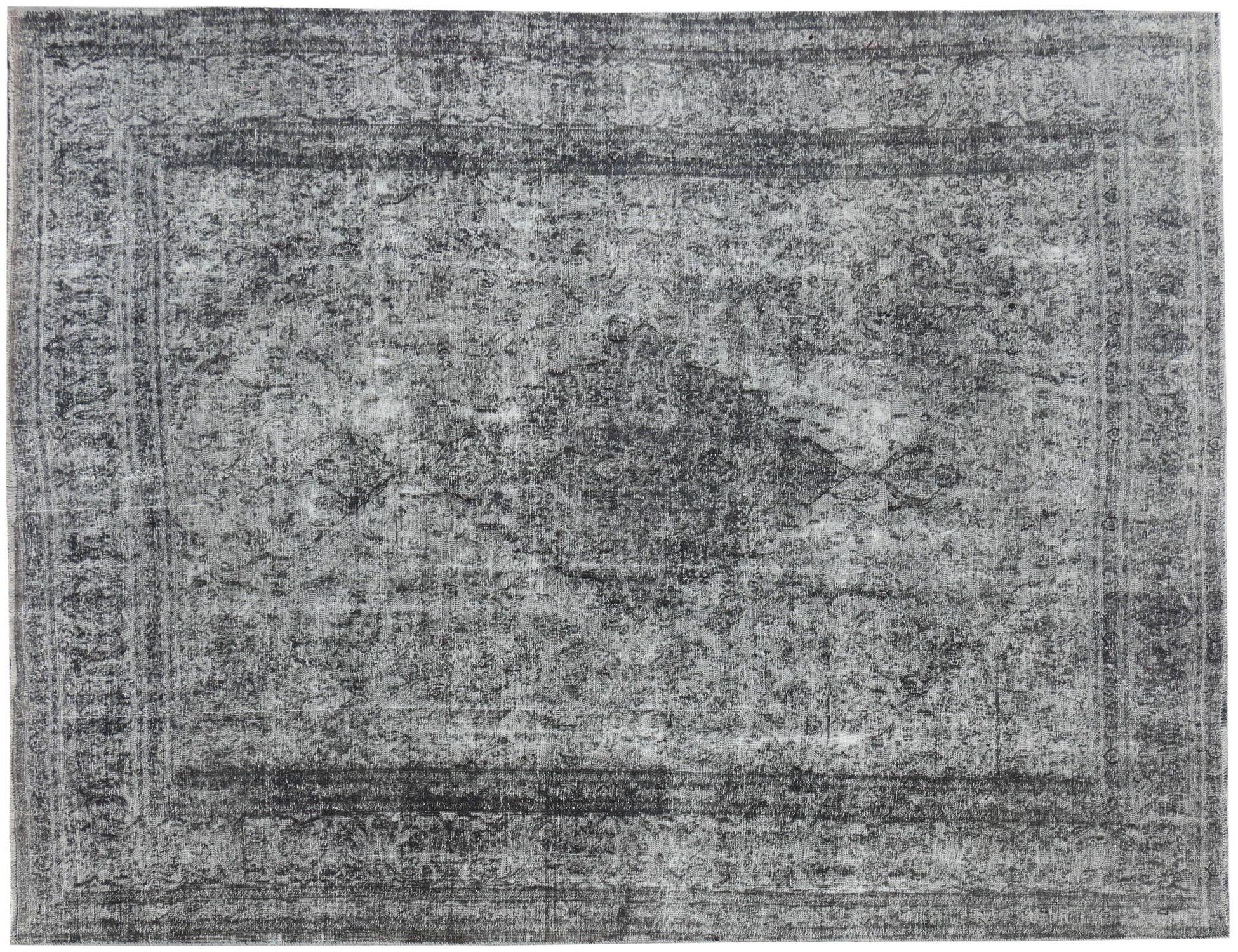 Persisk Vintagetæppe  grå <br/>374 x 274 cm
