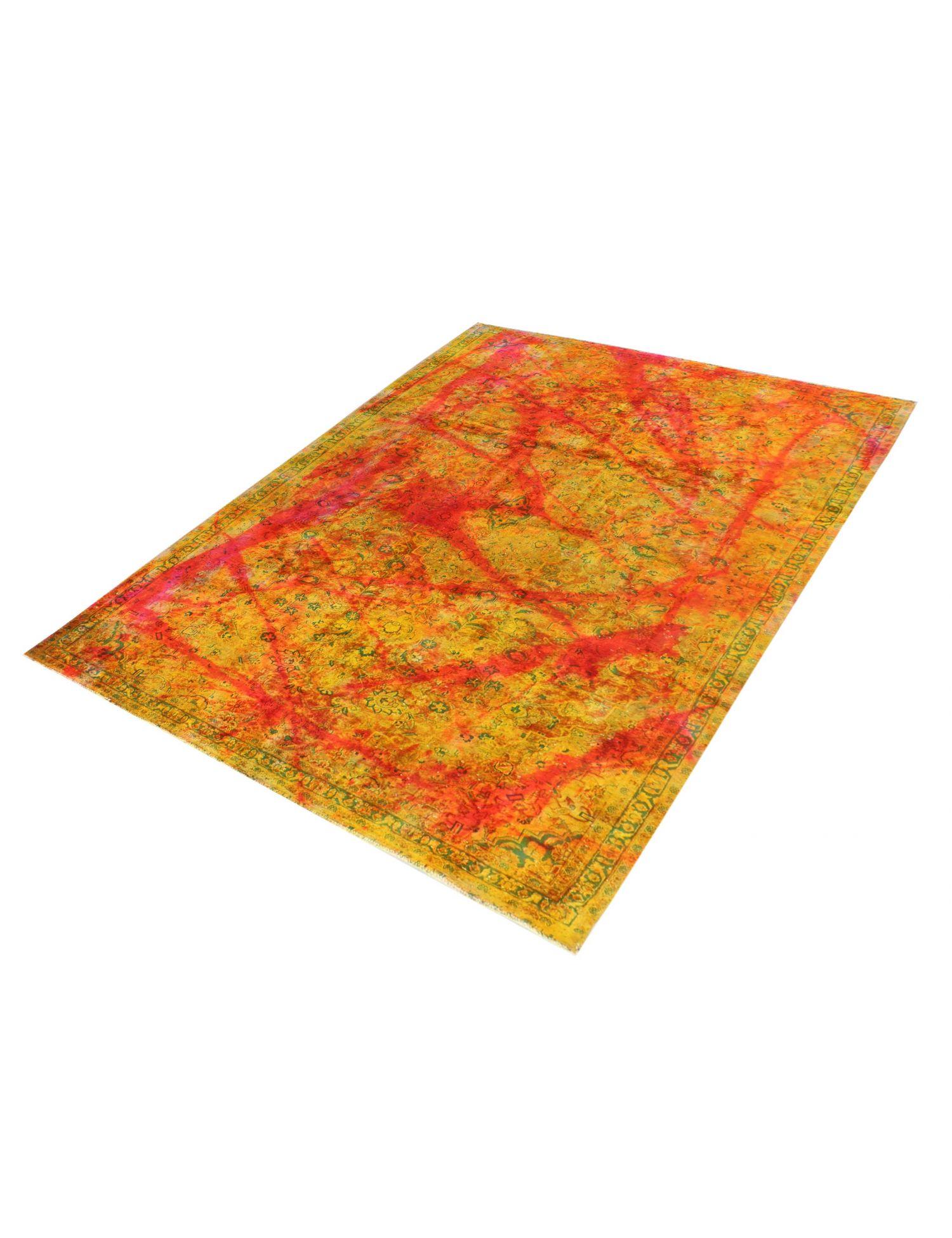 Persischer Vintage Teppich  gelb <br/>346 x 202 cm