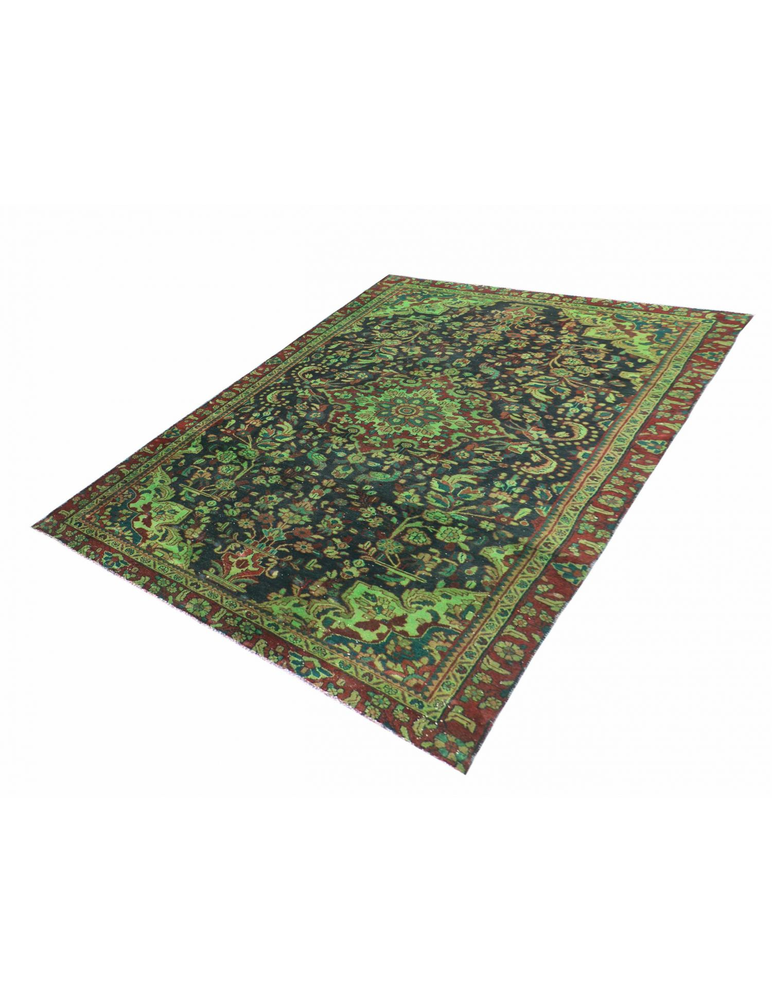 Persian Vintage Carpet  green  <br/>303 x 167 cm