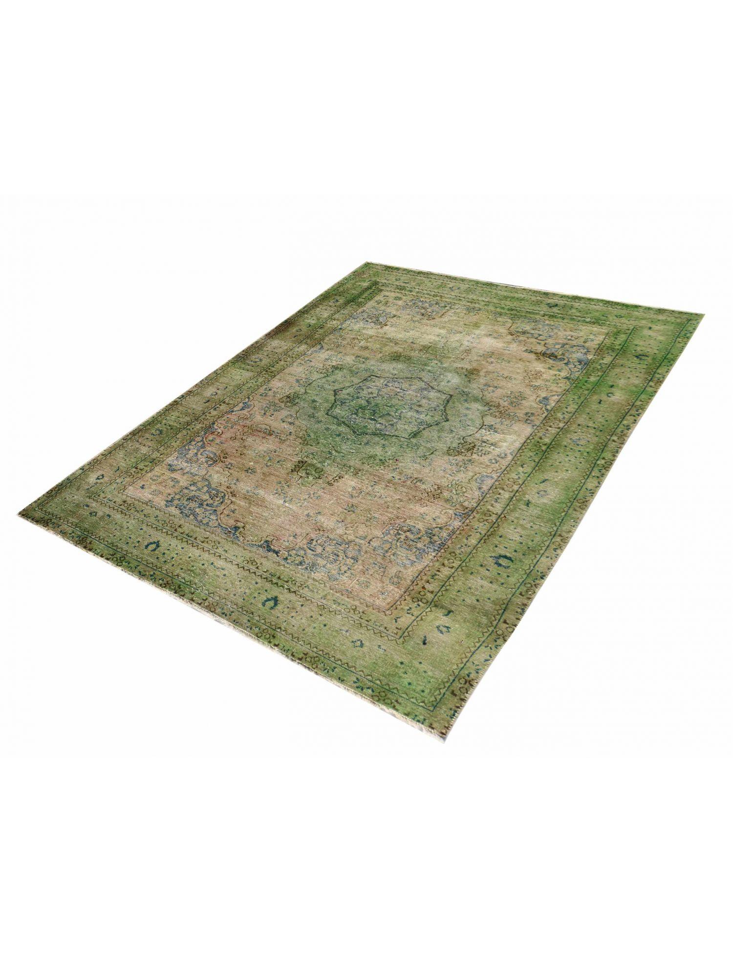 Persischer Vintage Teppich  grün <br/>280 x 170 cm