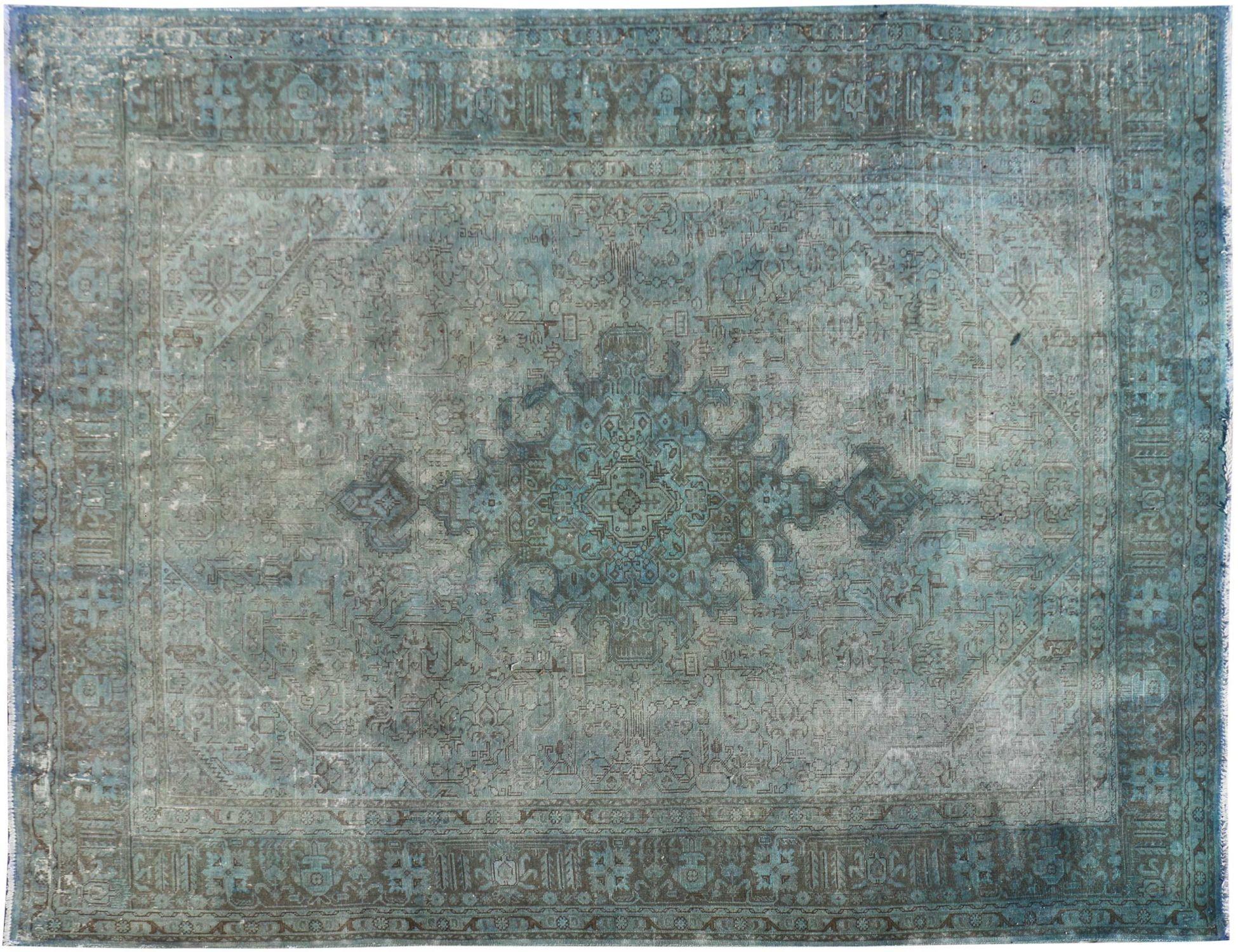 Vintage Teppich  blau <br/>340 x 240 cm