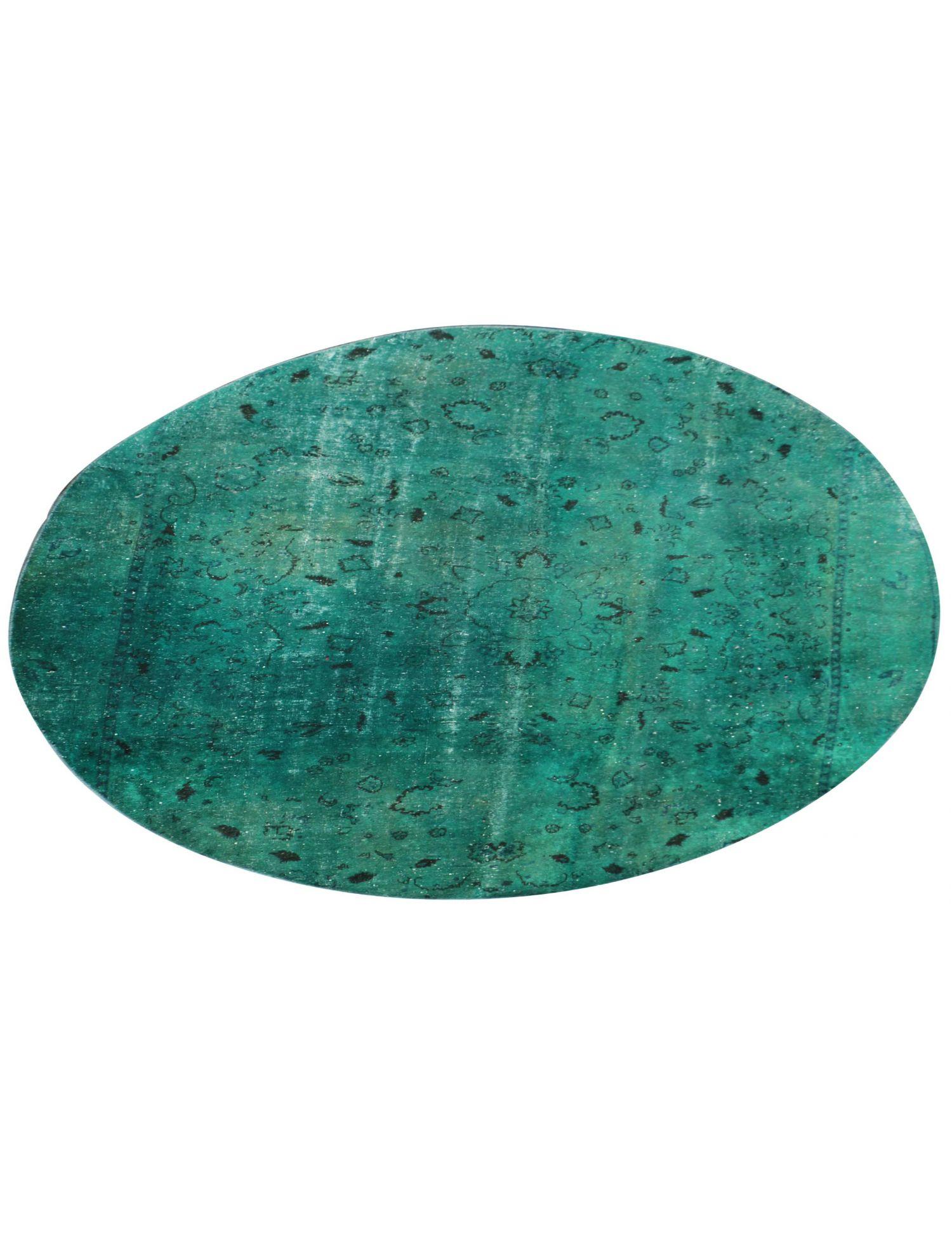 Persian Vintage Carpet  green  <br/>270 x 270 cm