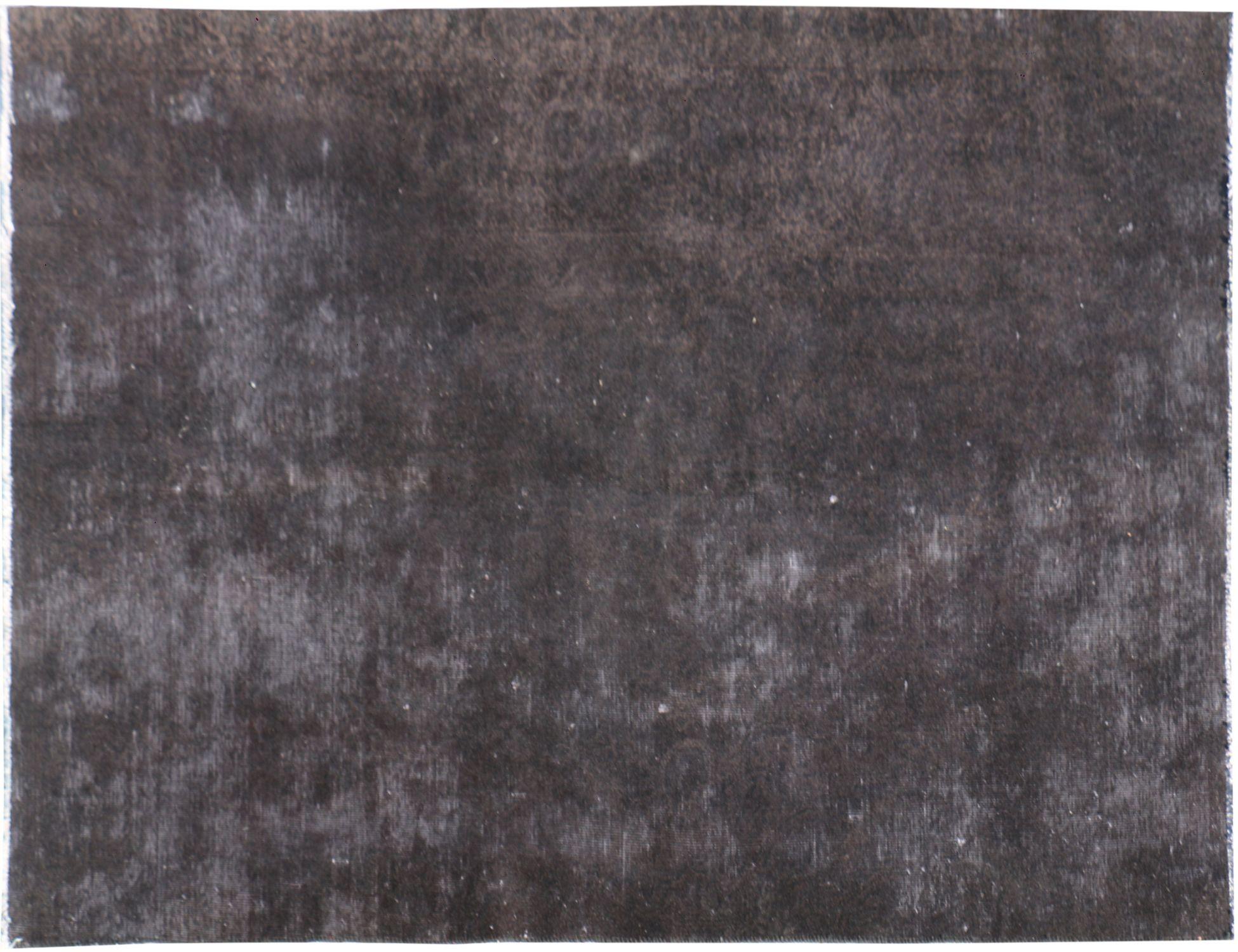 Persischer Vintage Teppich  schwarz <br/>228 x 134 cm