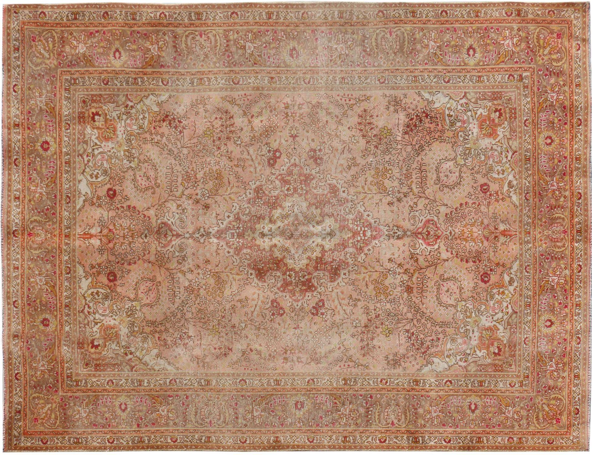 Persisk Vintagetæppe  brun <br/>283 x 196 cm
