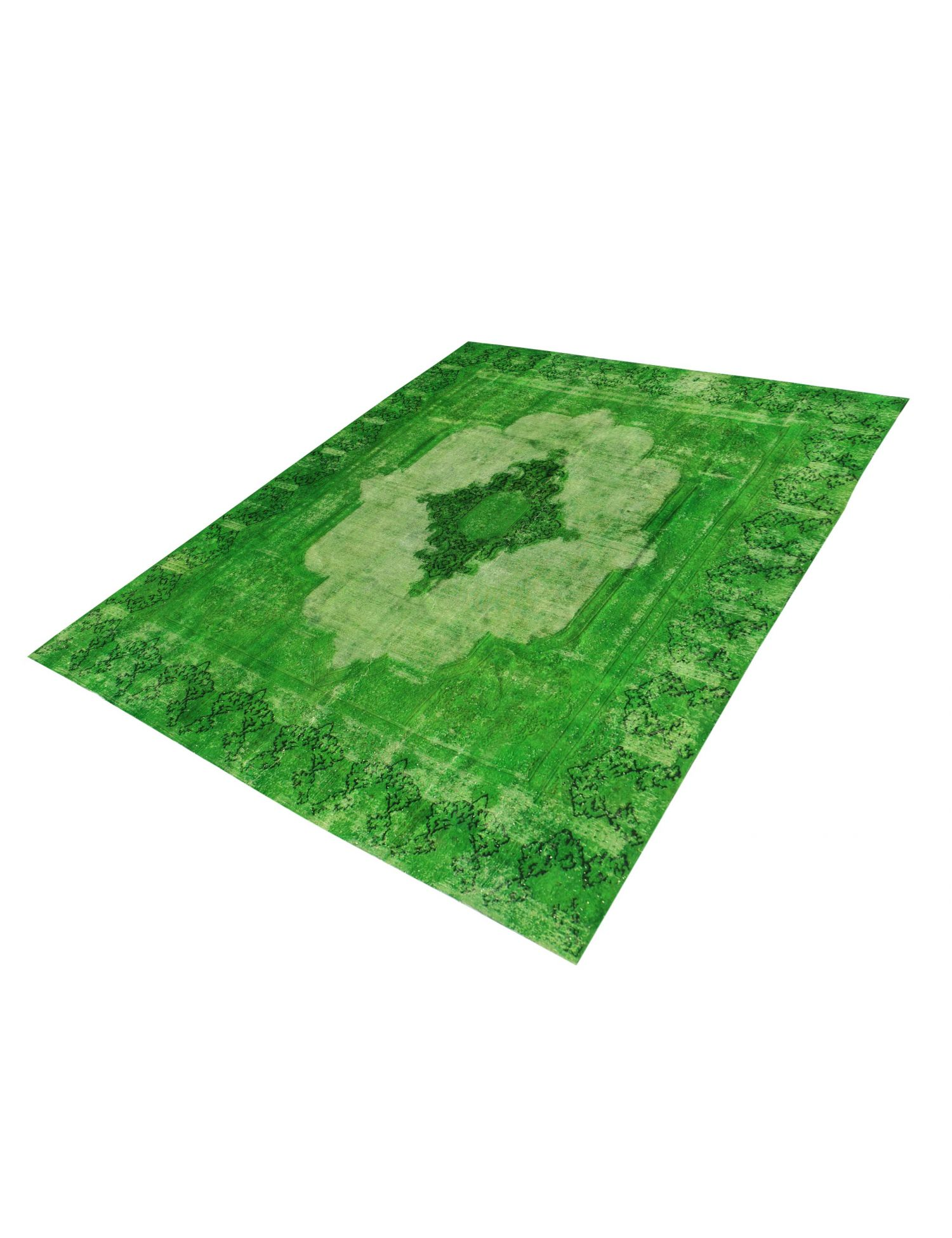Vintage Tapijt  groen <br/>376 x 280 cm