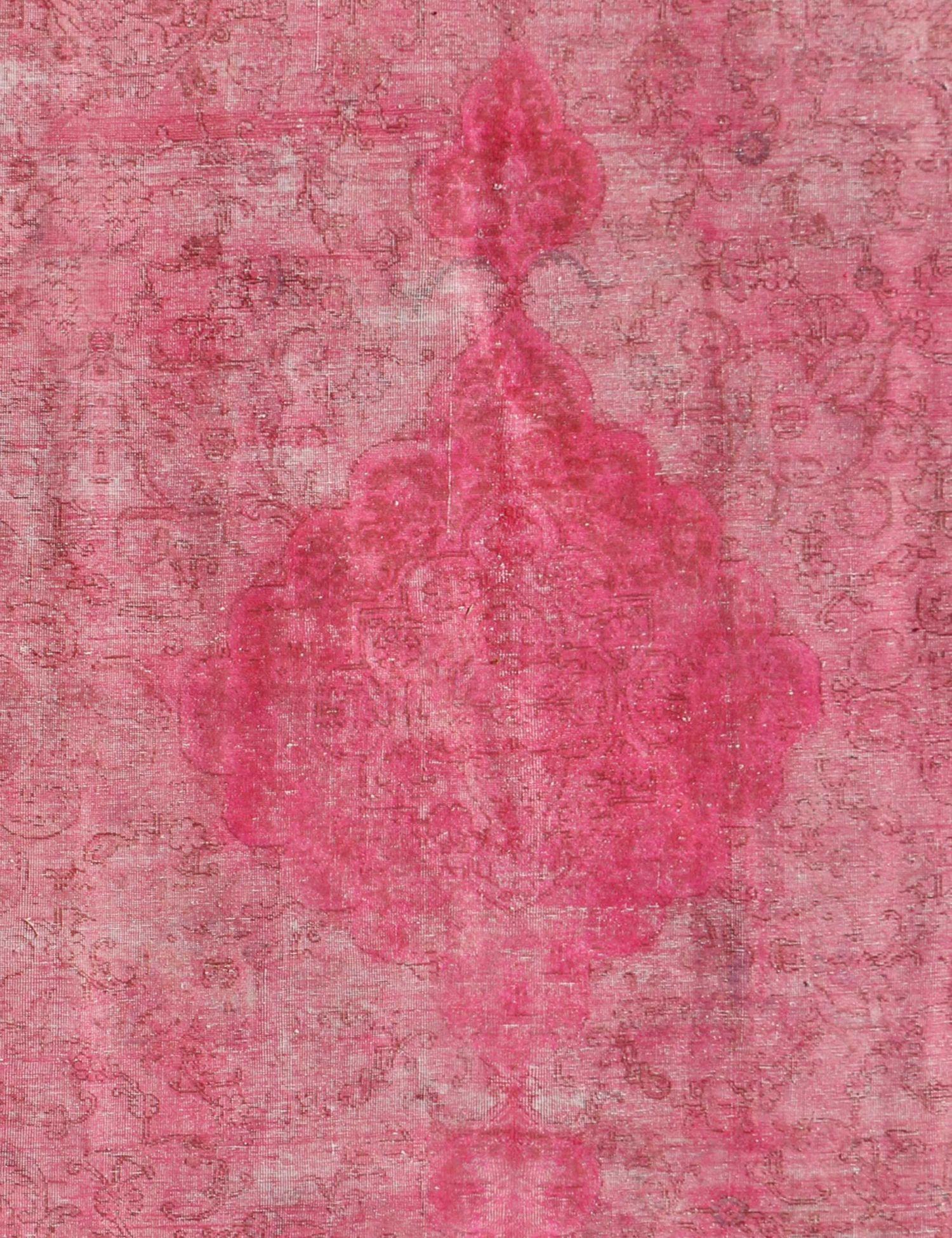Persisk Vintagetæppe  rose <br/>329 x 224 cm