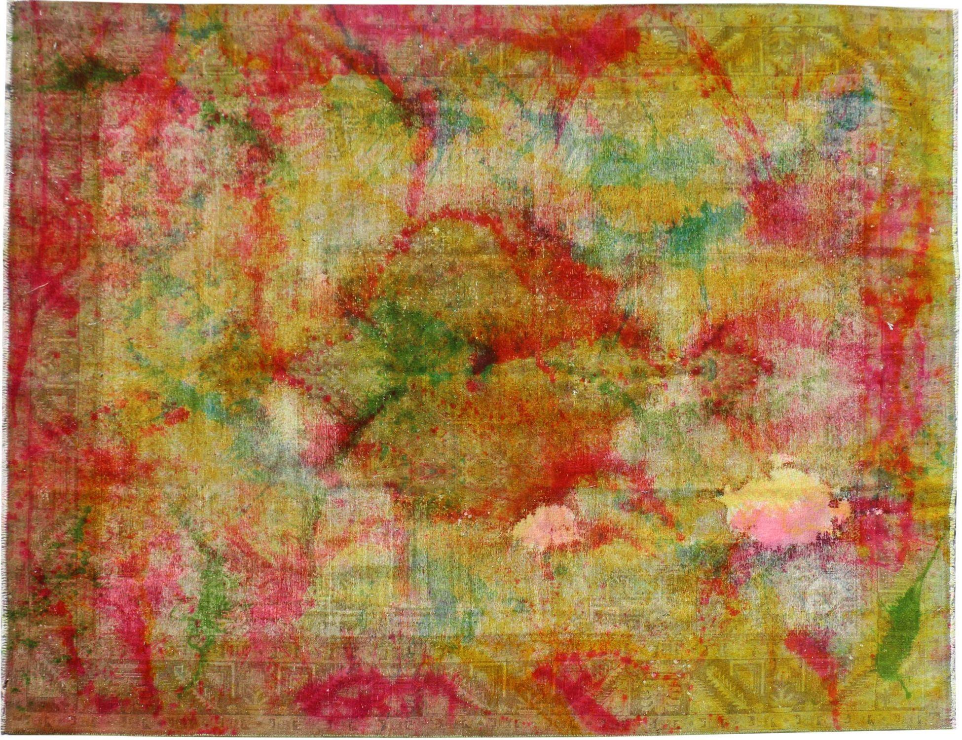 Vintagetæppe  gul <br/>398 x 294 cm
