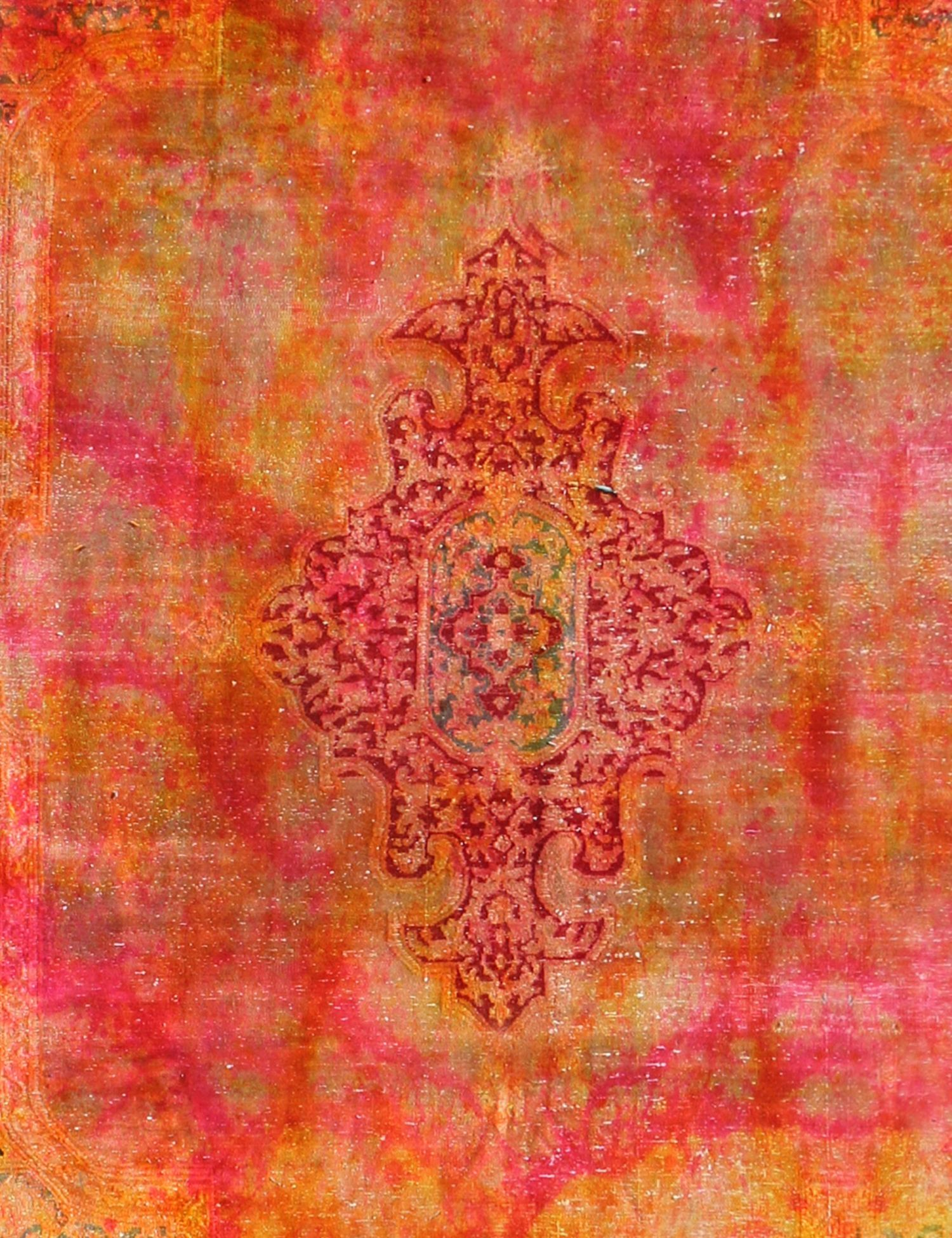 Perzisch Vintage Tapijt  oranje <br/>354 x 225 cm