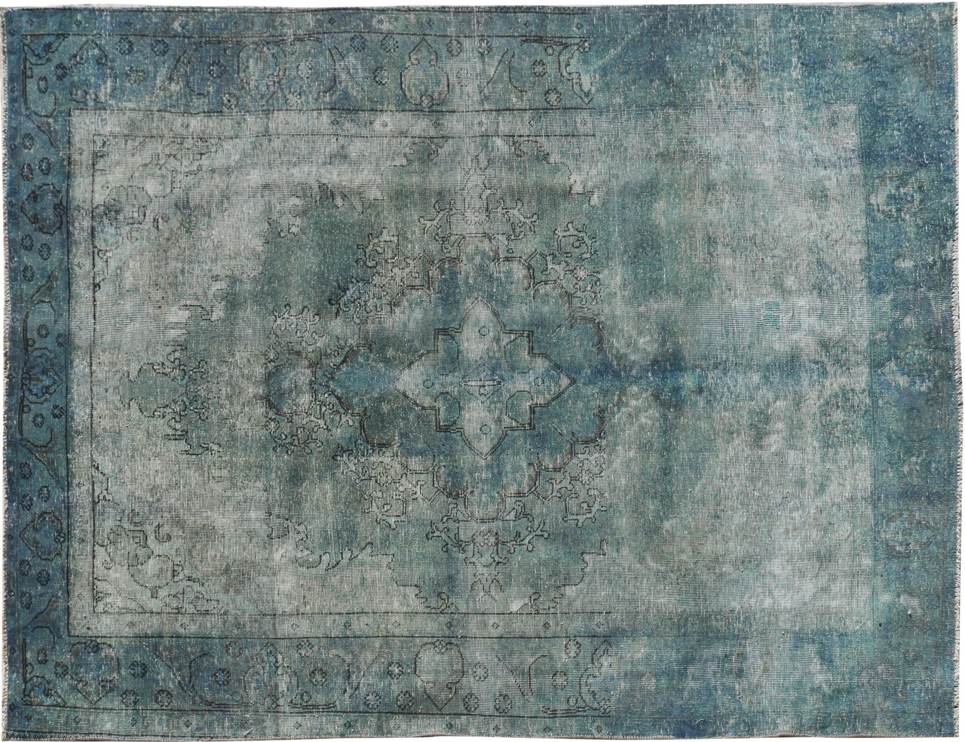 Tappeto Vintage  blu <br/>288 x 191 cm
