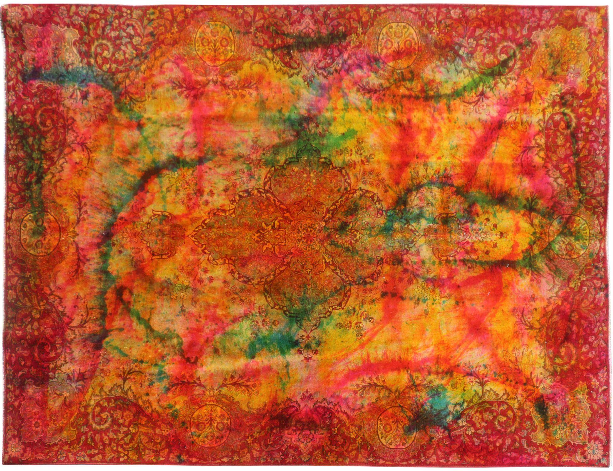 Persisk Vintagetæppe  orange <br/>377 x 277 cm