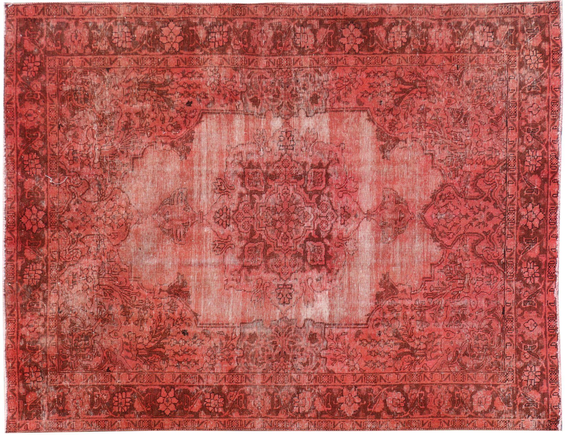 Vintagetæppe  rød <br/>290 x 190 cm