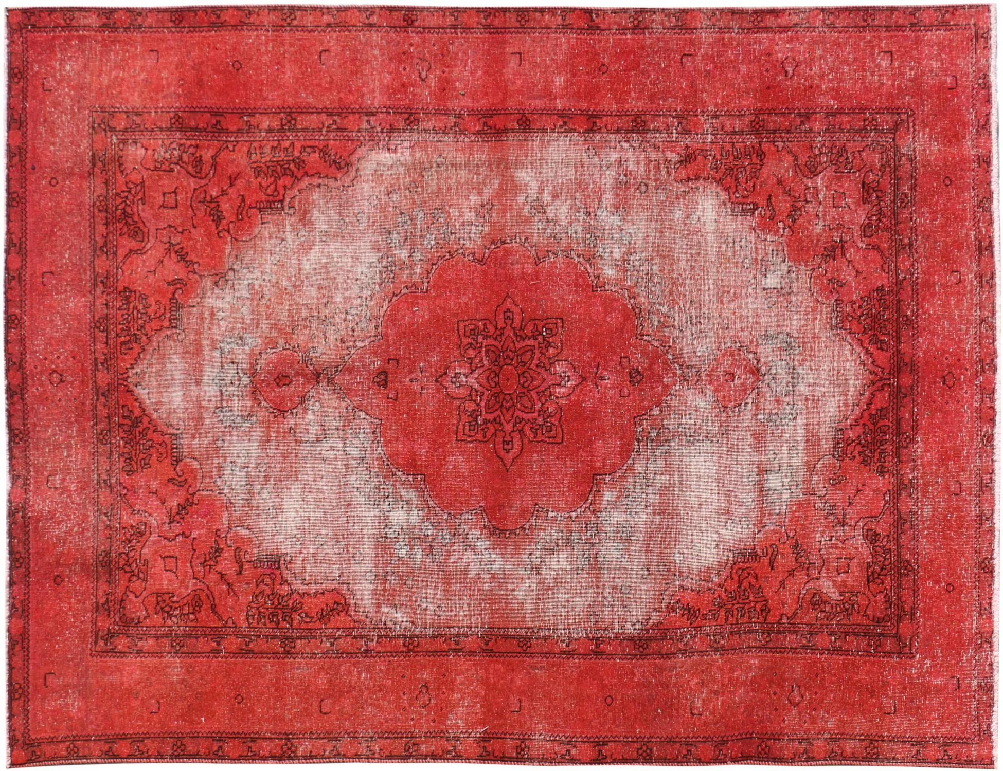 Persian Vintage Carpet  red  <br/>295 x 188 cm