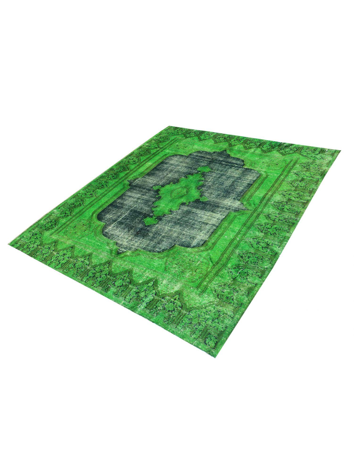 Persisk Vintagetæppe  grøn <br/>290 x 205 cm