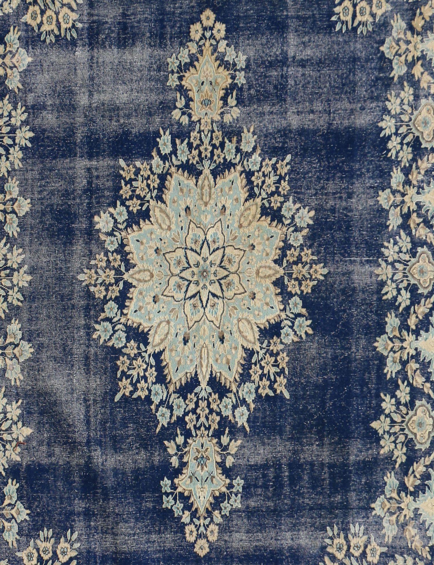 Vintage Teppich  blau <br/>394 x 300 cm