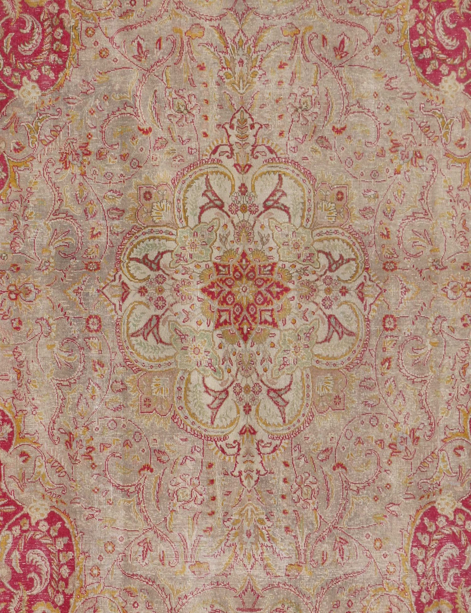 Tappeto Vintage  grigo <br/>384 x 271 cm
