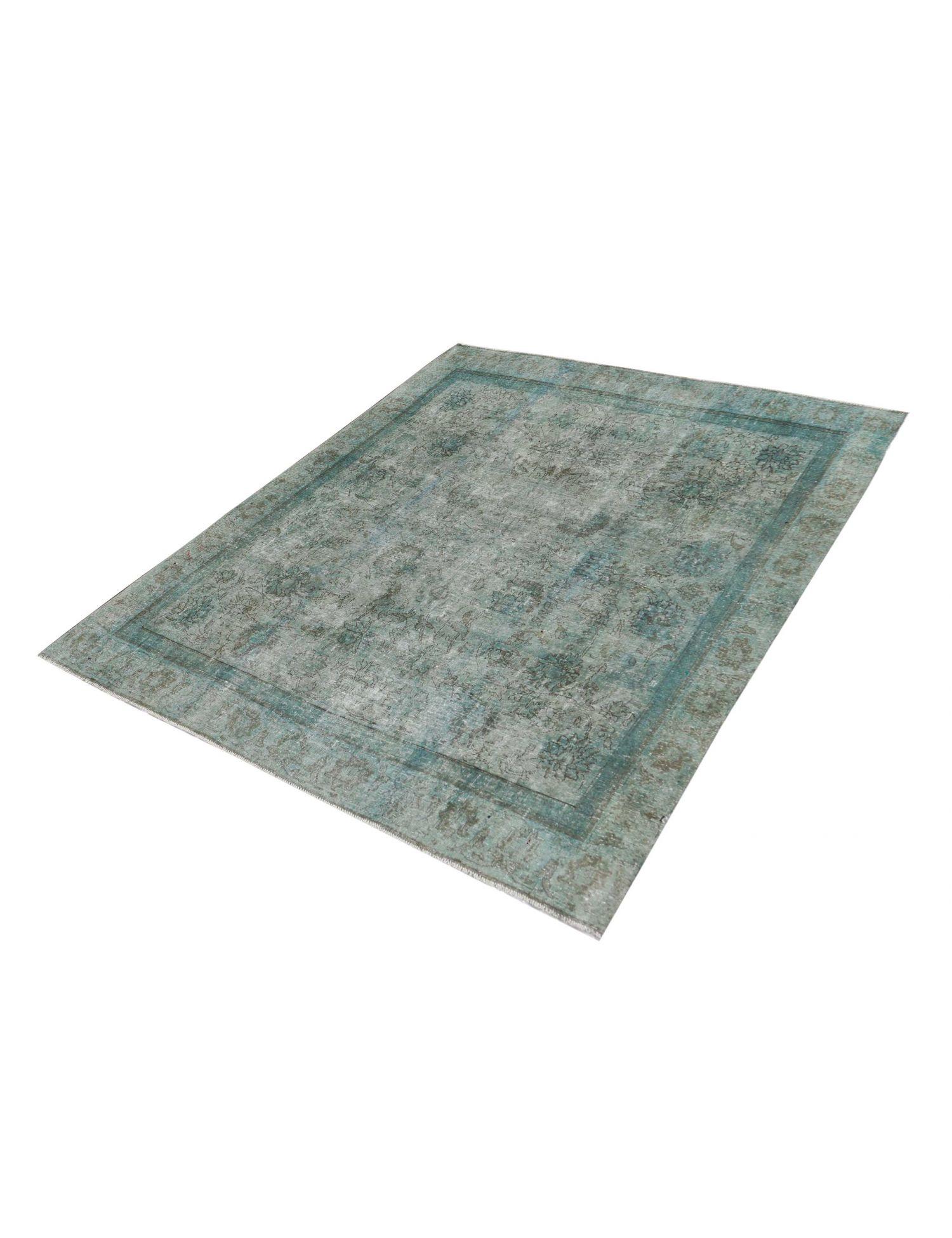 Perzisch Vintage Tapijt  blauw <br/>270 x 264 cm