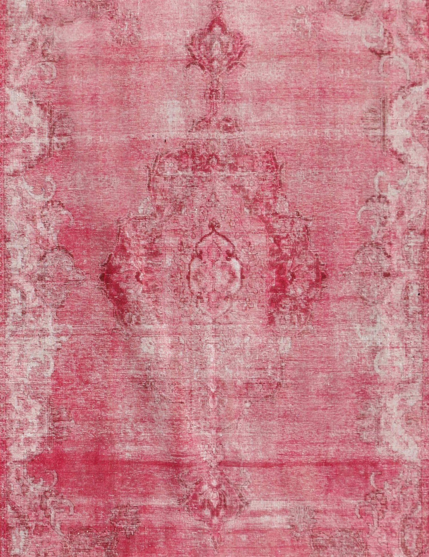 Vintage Tapijt  roze <br/>370 x 295 cm