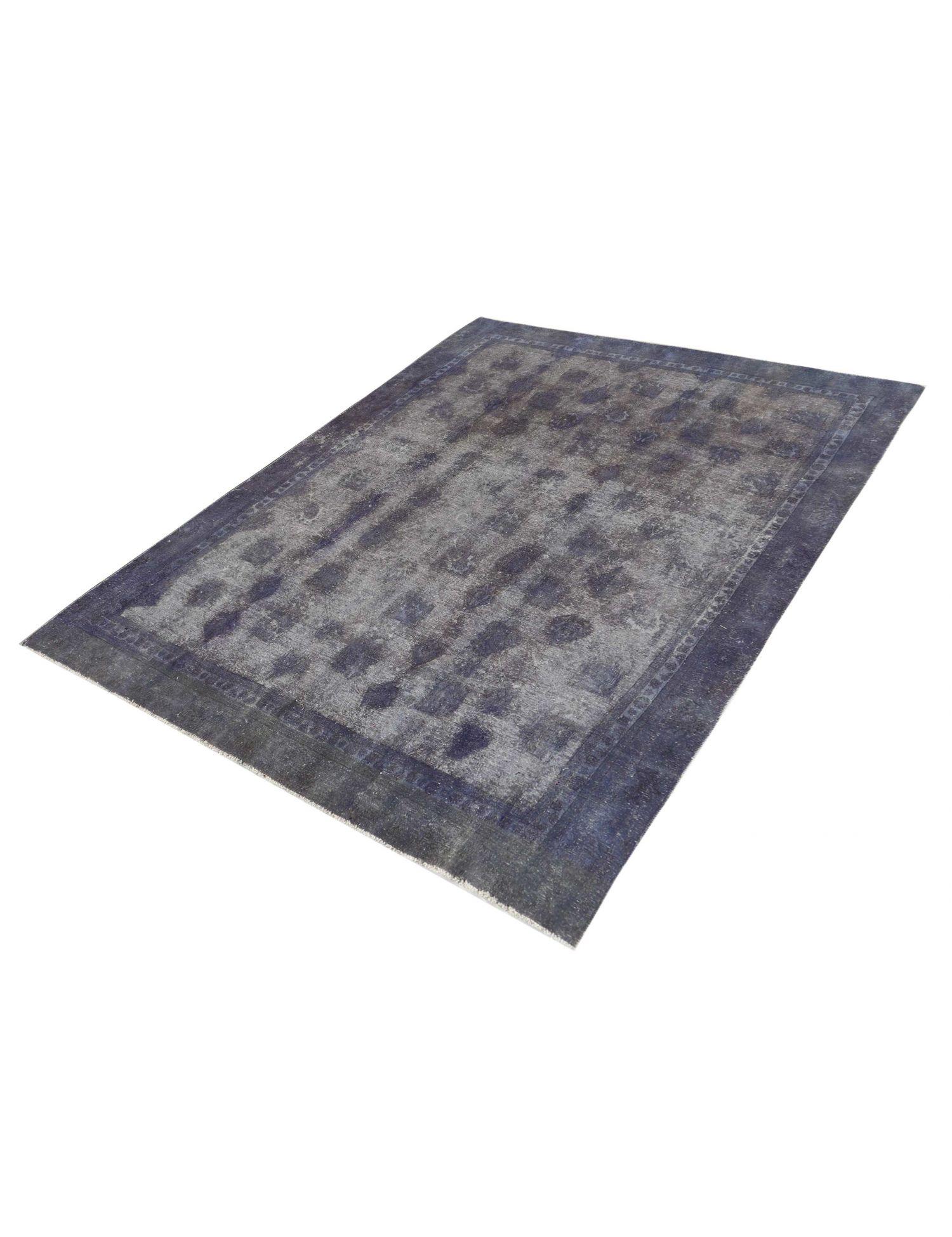 Vintagetæppe  blå <br/>343 x 256 cm