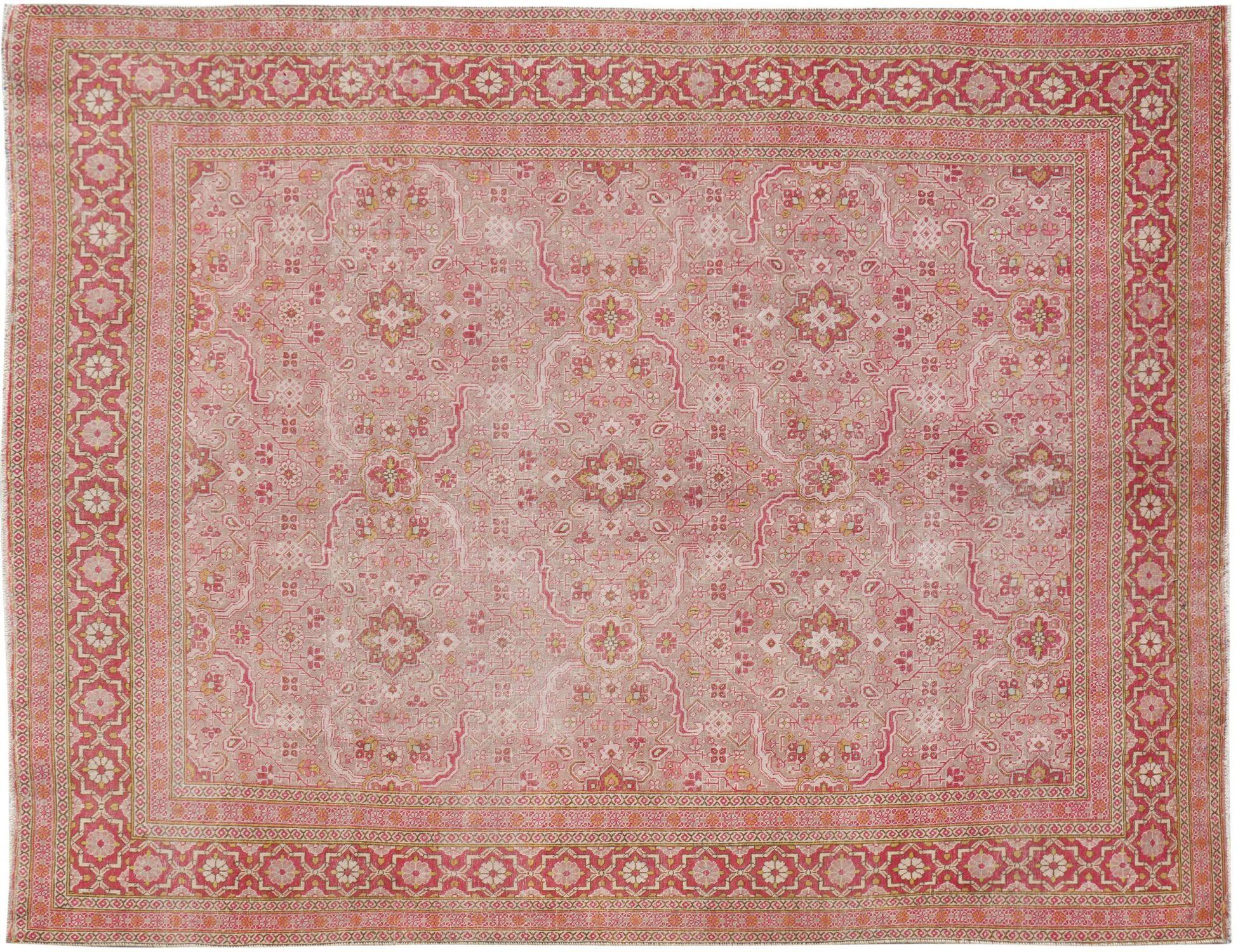 Persisk Vintagetæppe  beige <br/>387 x 279 cm