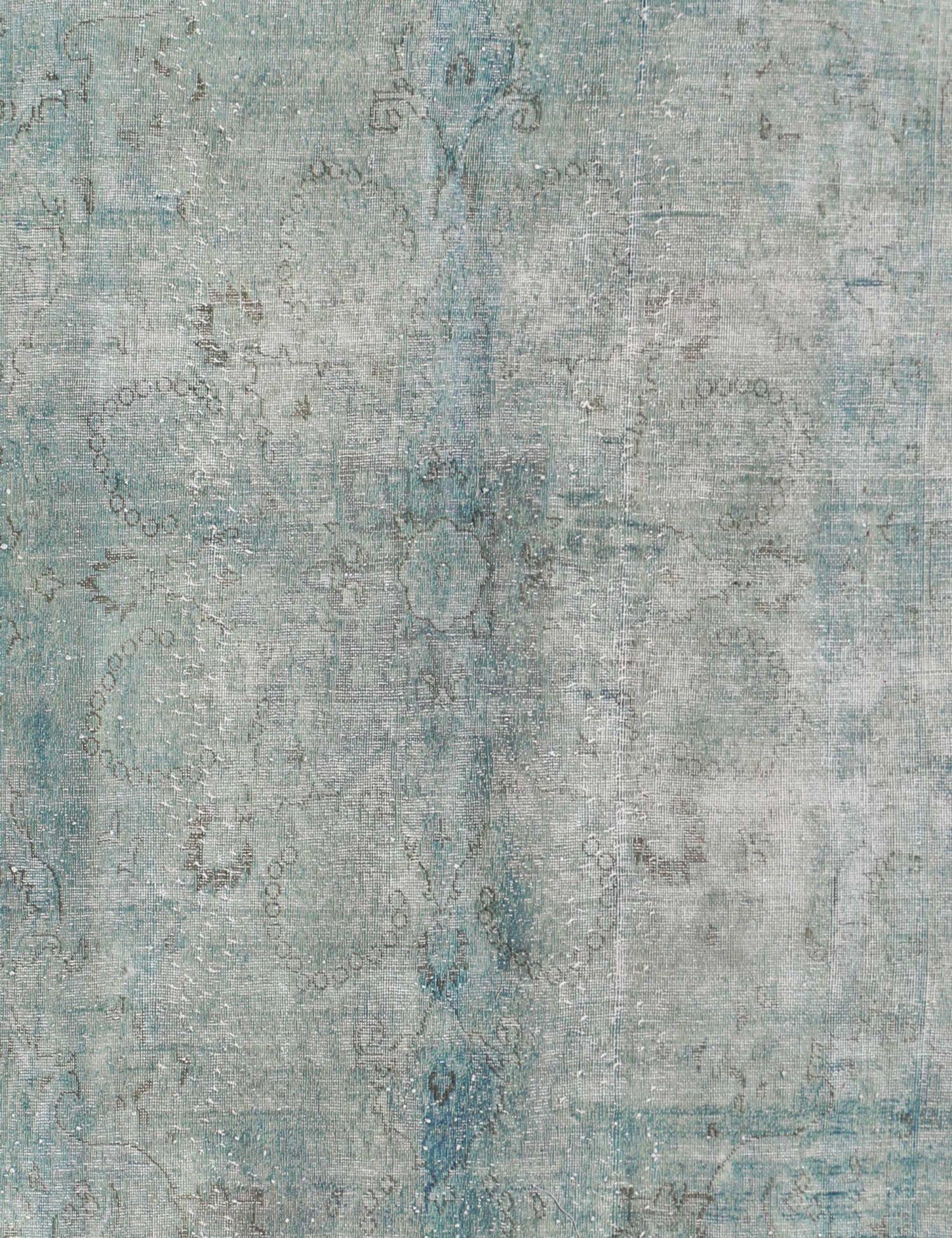 Vintagetæppe  blå <br/>278 x 192 cm