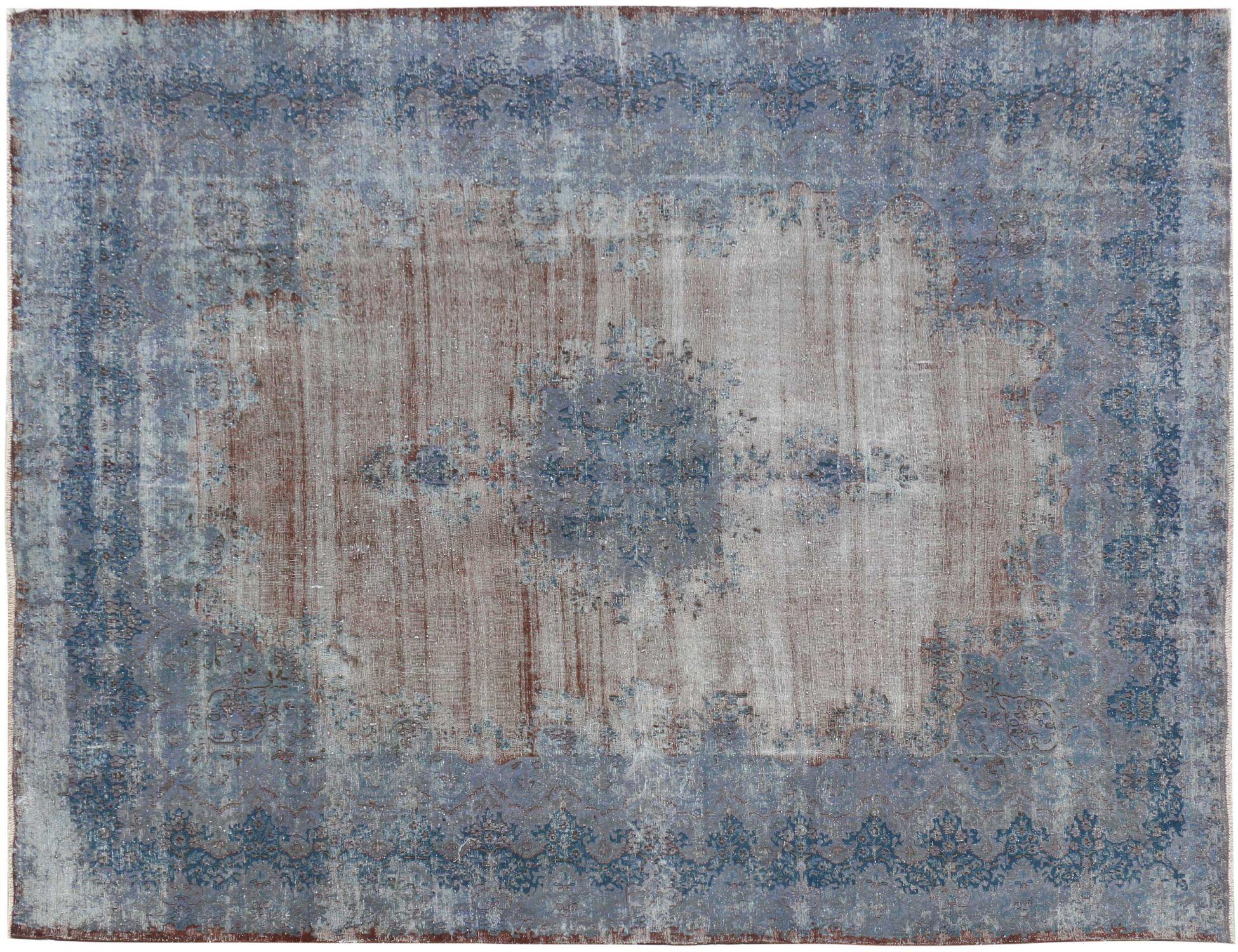 Vintage Tapijt  blauw <br/>384 x 291 cm