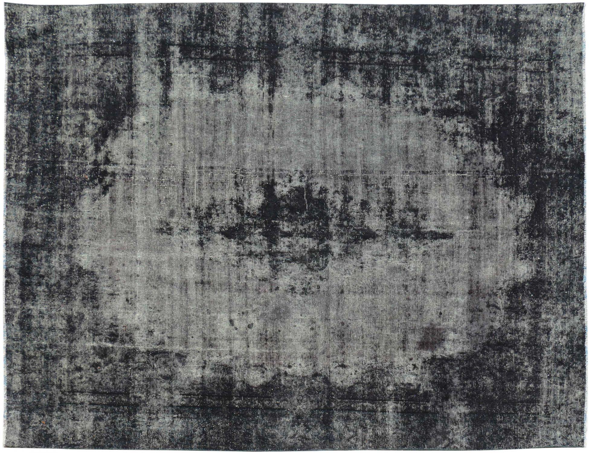 Persisk Vintagetæppe  sort <br/>334 x 259 cm