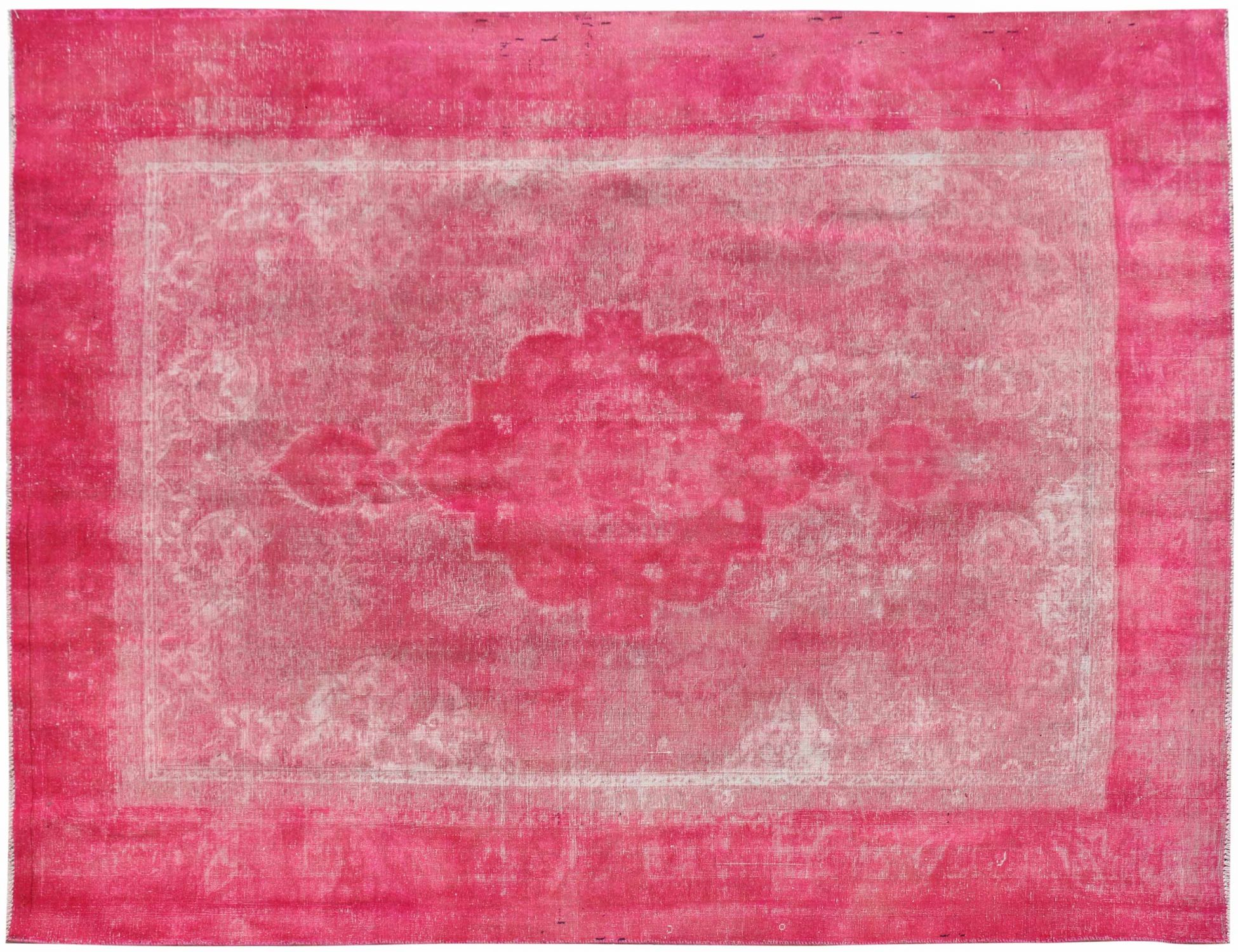 Vintage Tapijt  roze <br/>360 x 253 cm