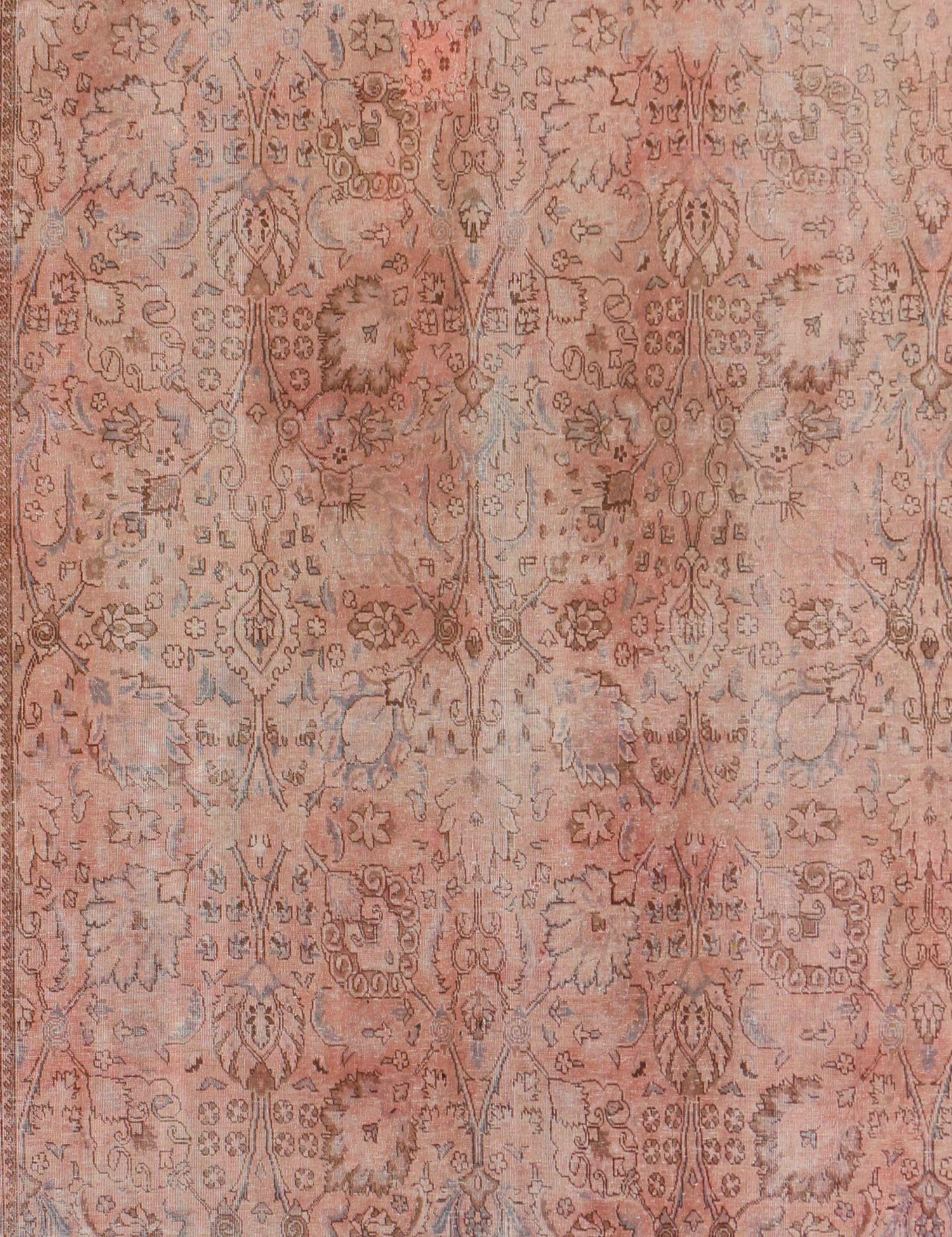 Persisk Vintagetæppe  rose <br/>341 x 274 cm