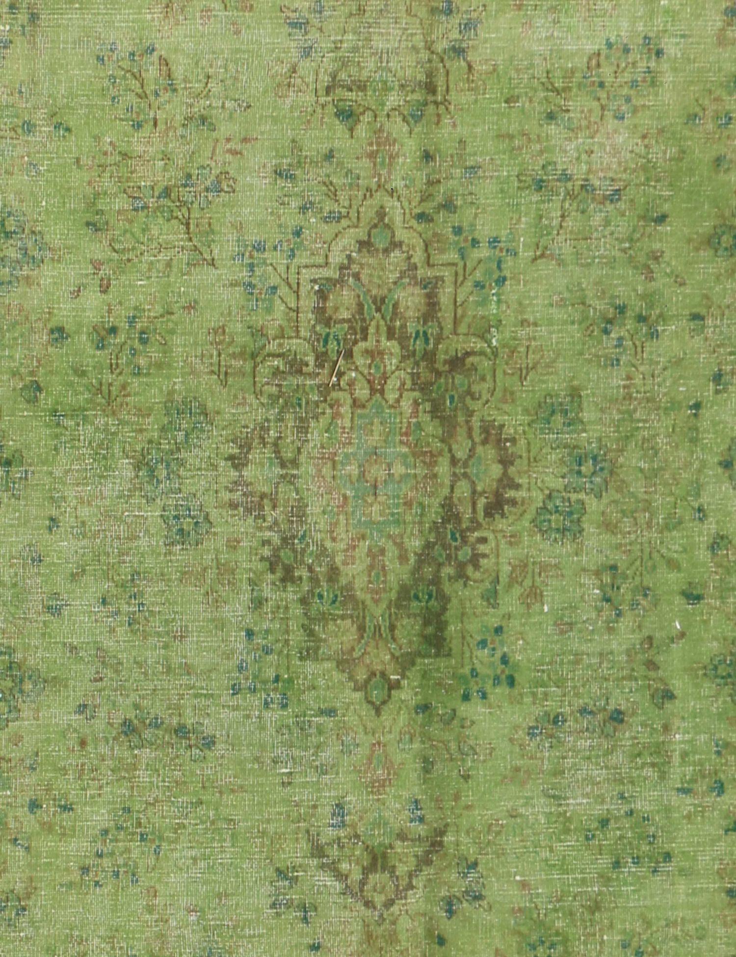 Persisk Vintagetæppe  grøn <br/>294 x 204 cm