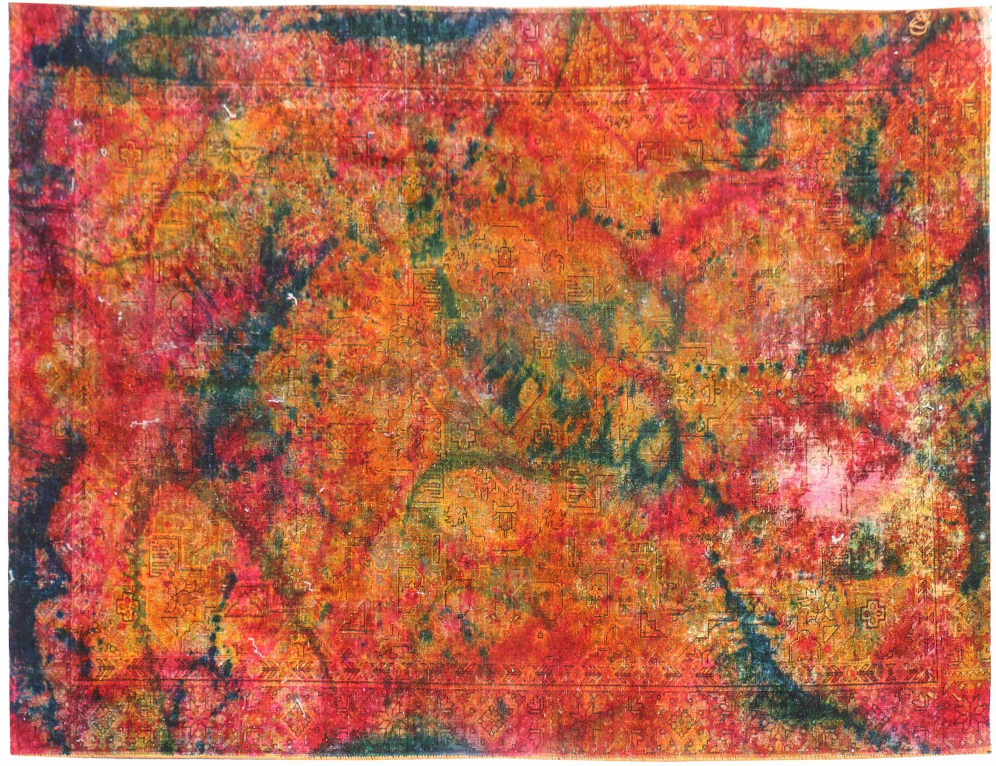 Perzisch Vintage Tapijt  multi kleur <br/>290 x 185 cm
