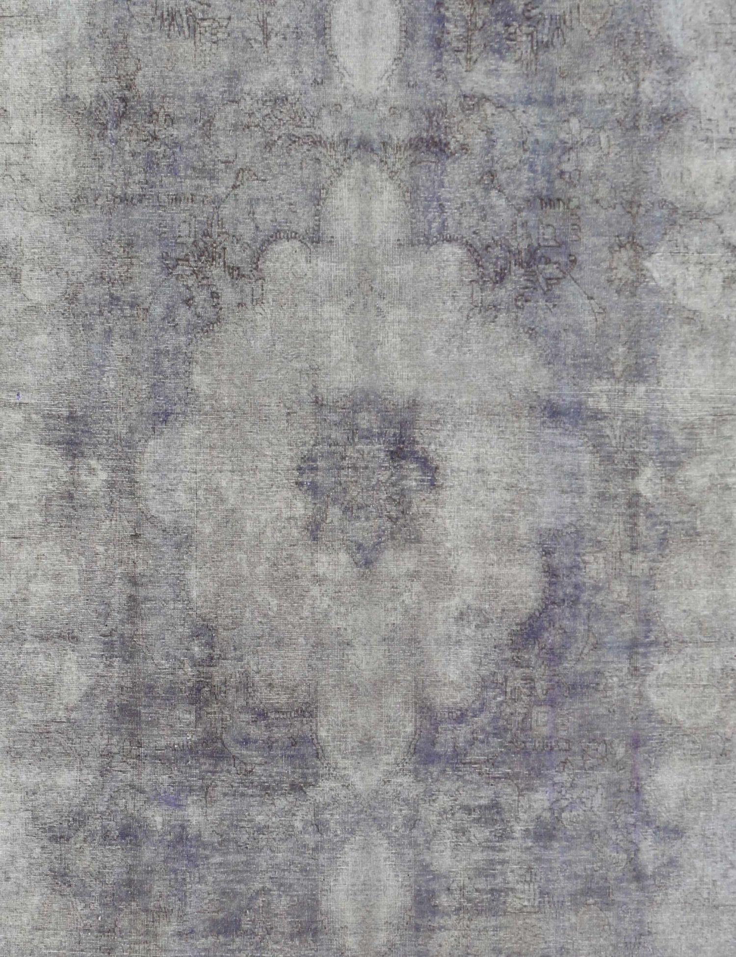 Vintagetæppe  blå <br/>387 x 284 cm