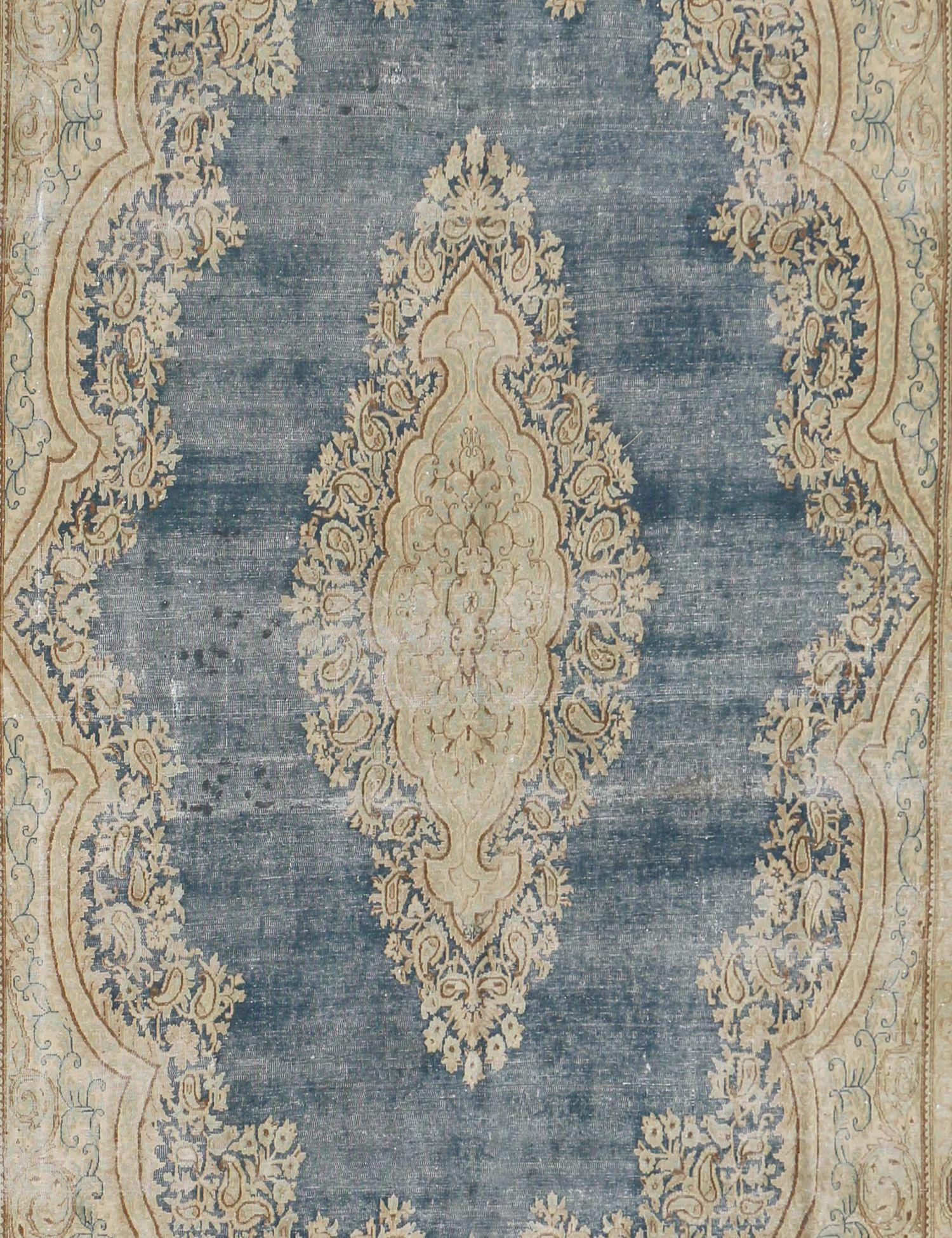 Vintage Tapijt  blauw <br/>380 x 268 cm
