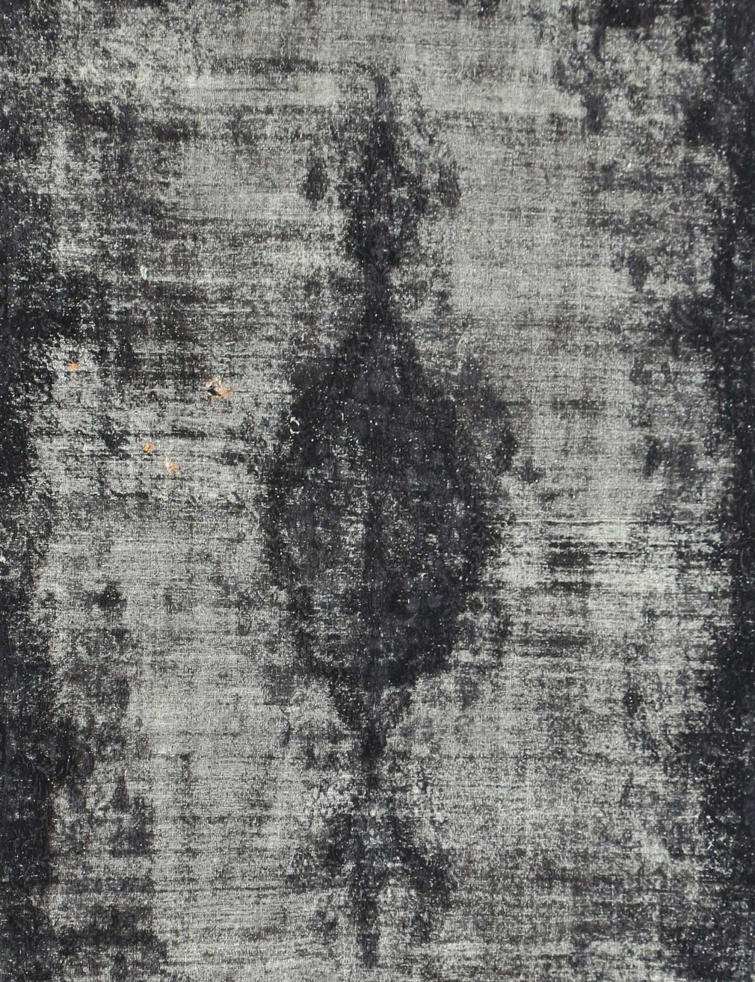 Vintage Tapijt  zwarte  <br/>360 x 265 cm